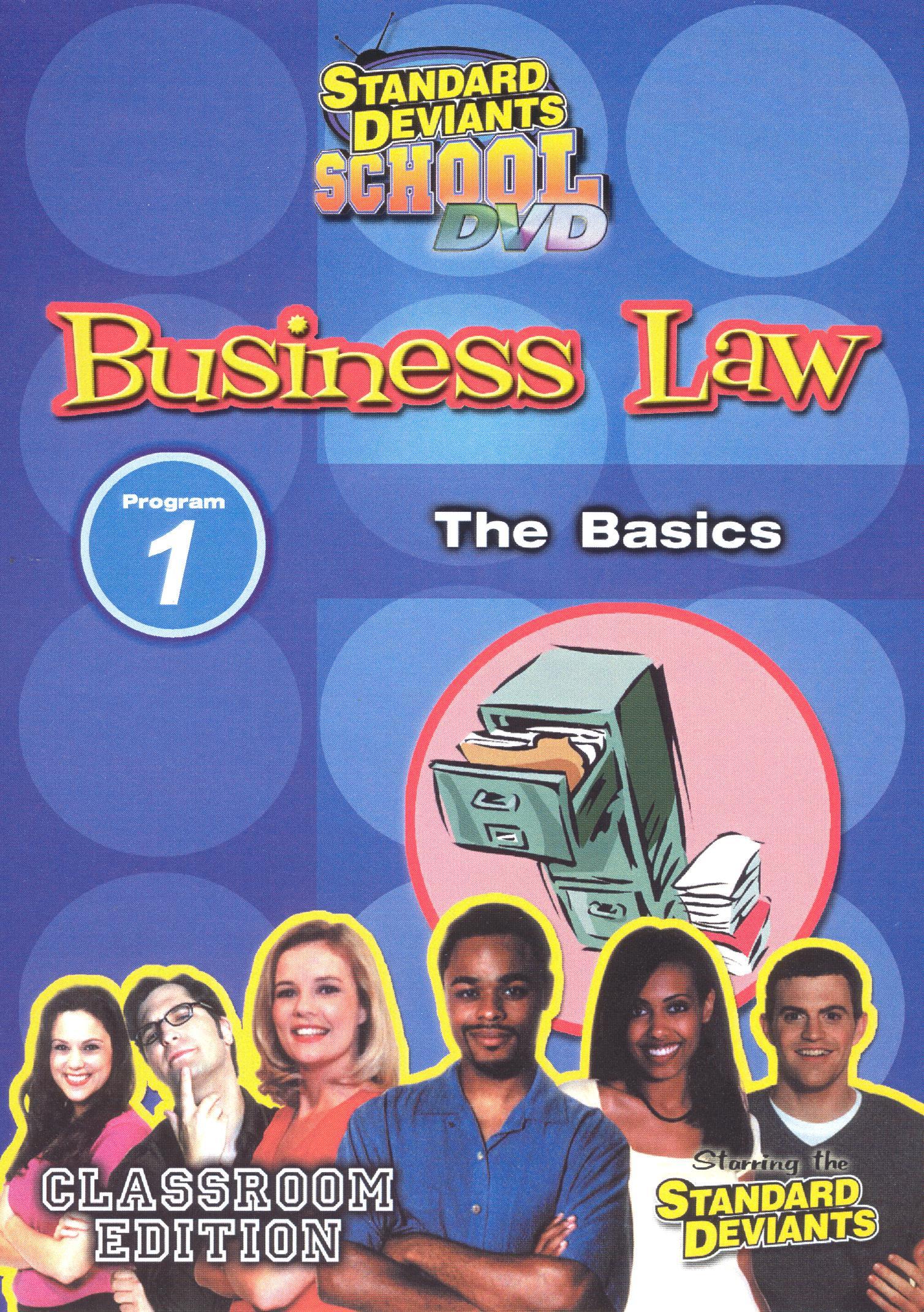 Standard Deviants School: Business Law, Program 1