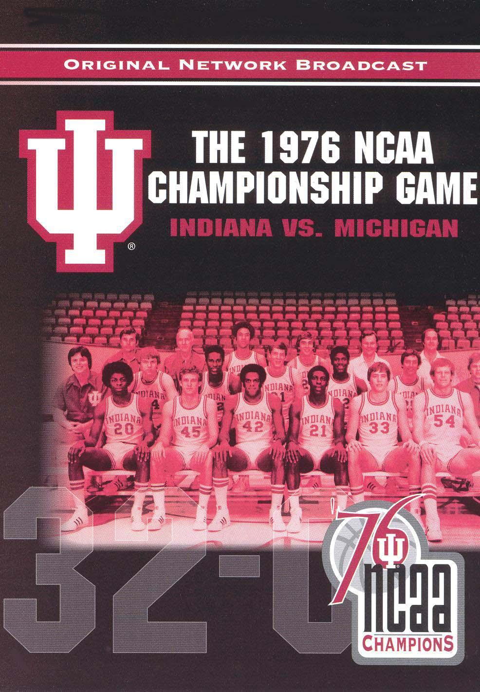 NCAA Championship 1976: Indiana vs. Michigan