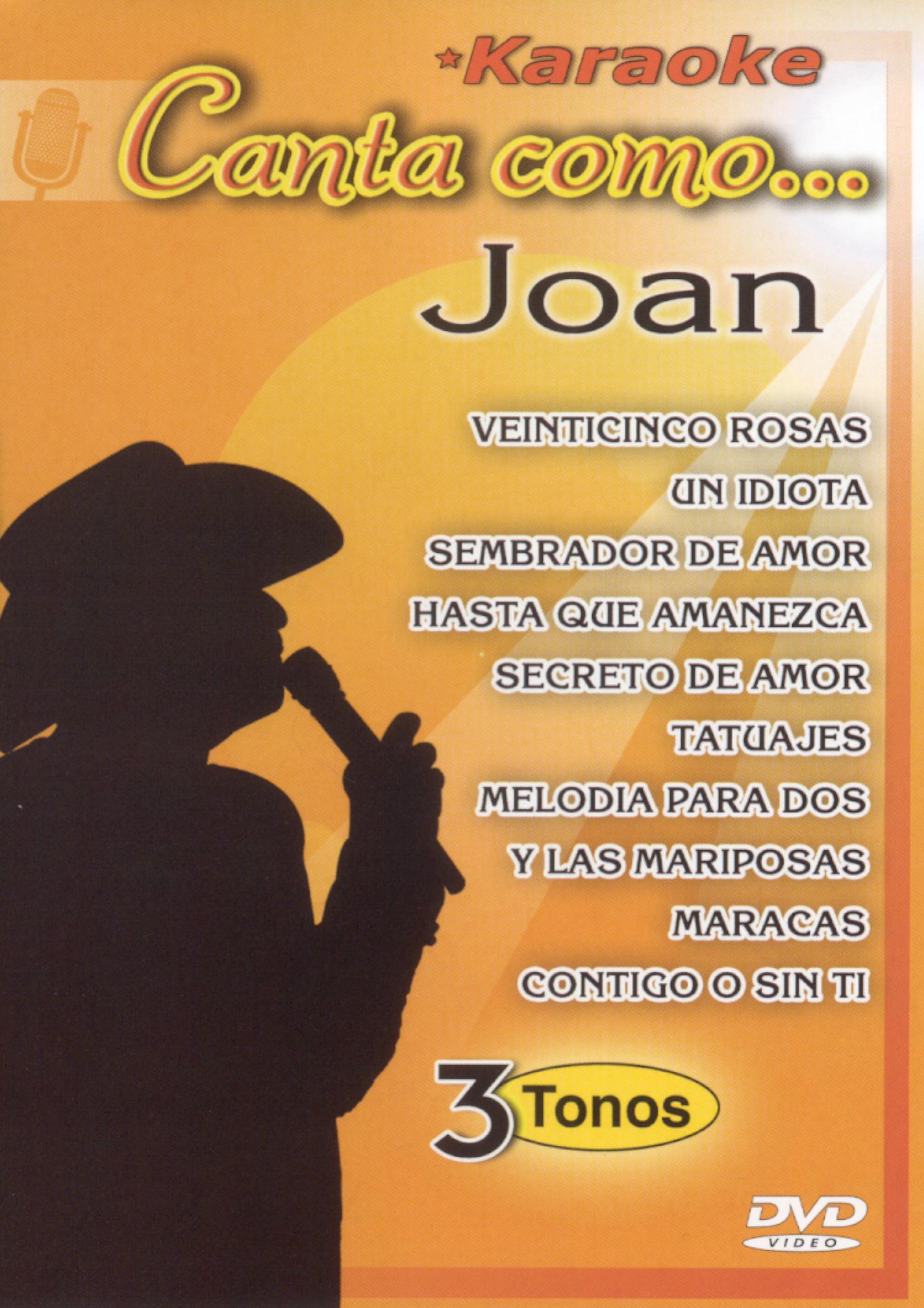 Joan Sebastien: Canta Como Joan