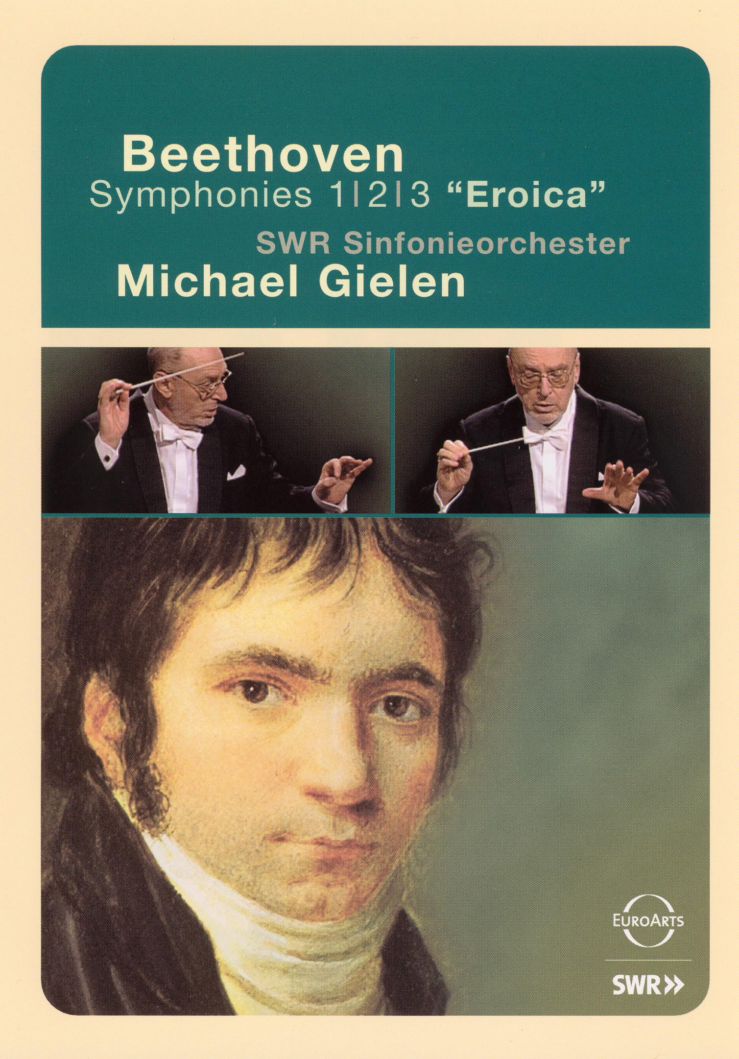 Michael Gielen/SWR Sinfonieorchester: Beethoven Symphonies Nos. 1/2/3