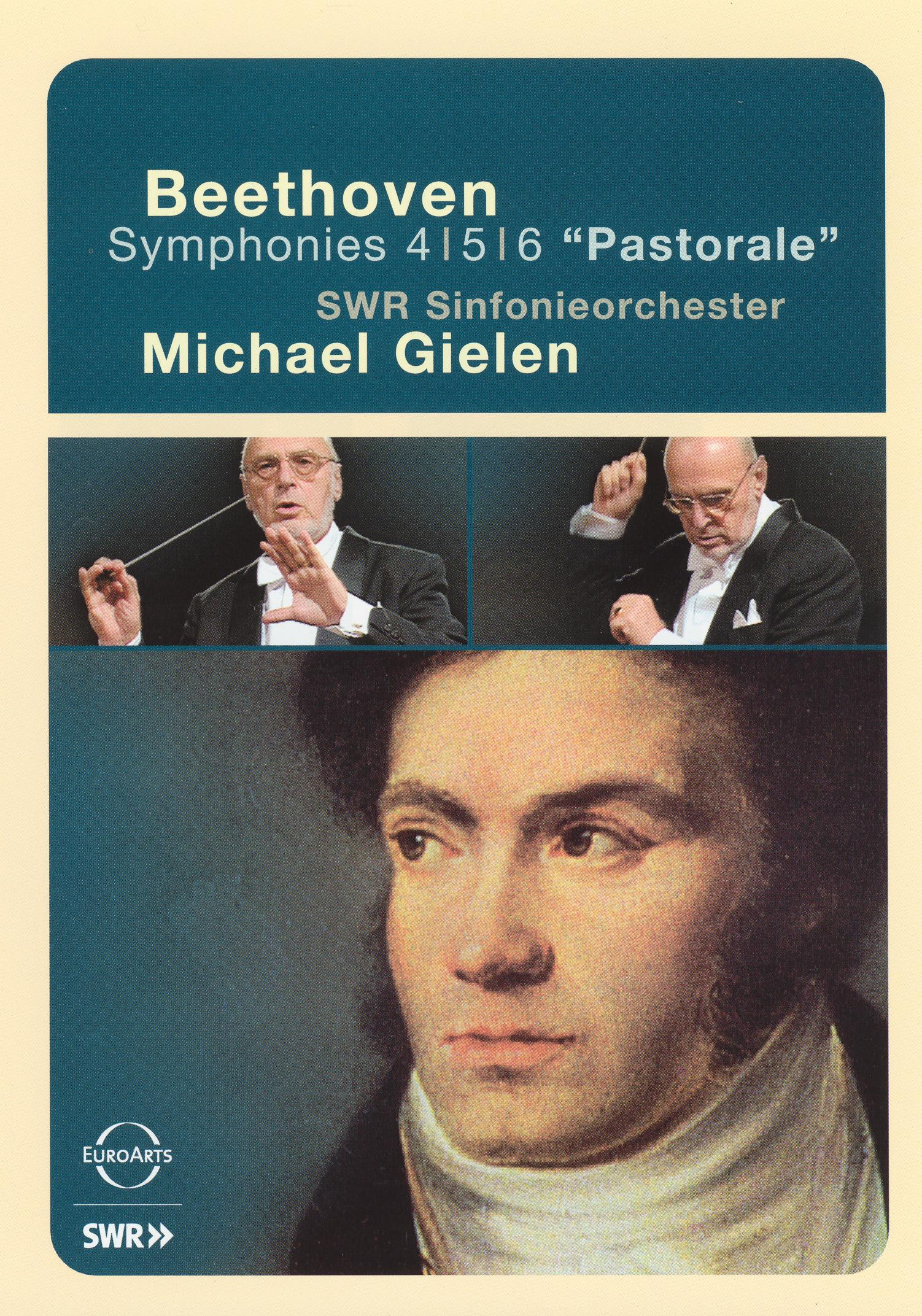 Michael Gielen/SWR Sinfonieorchester: Beethoven Symphonies Nos. 4, 5, & 6
