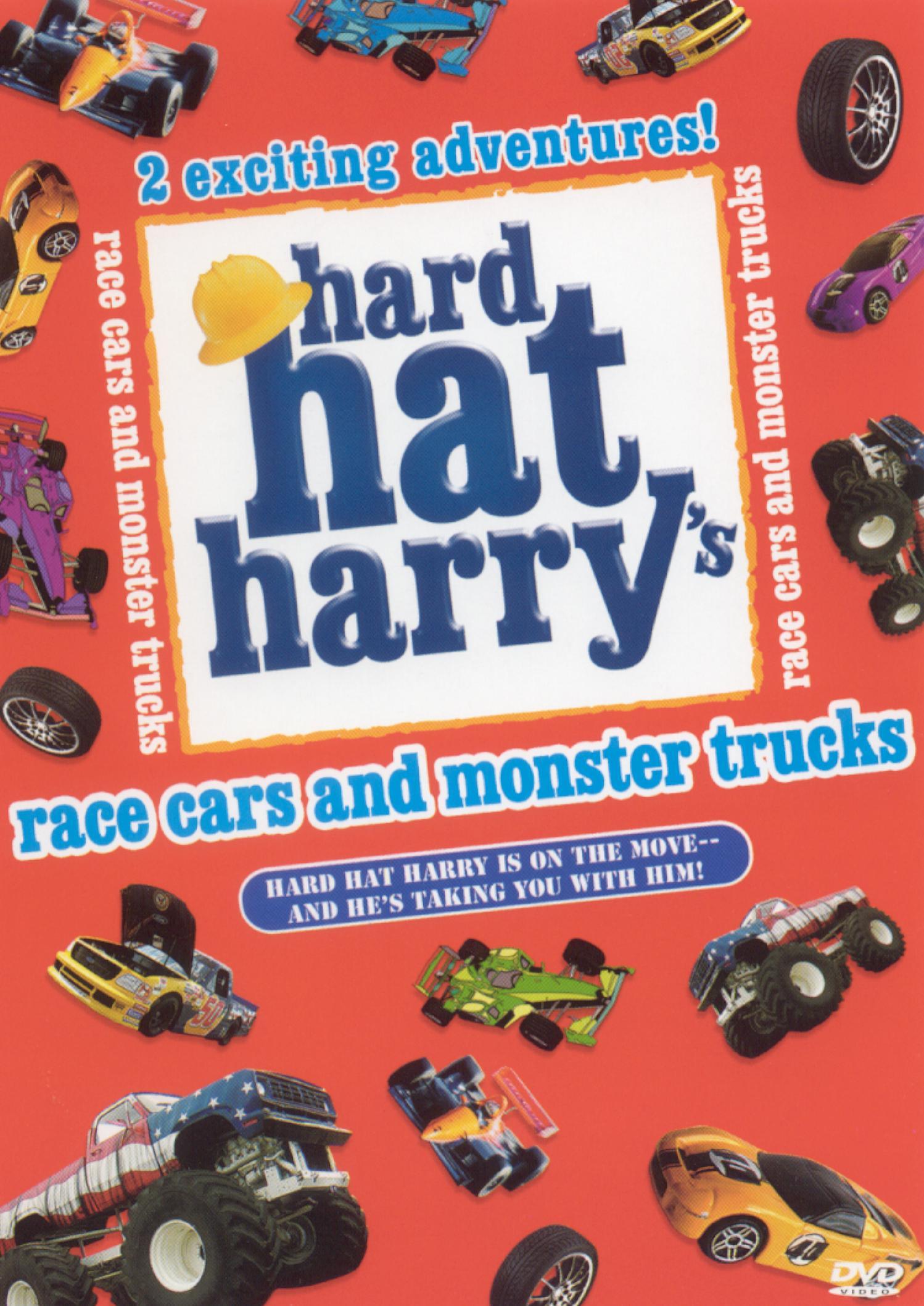 Hard Hat Harry Race Cars Monster Trucks