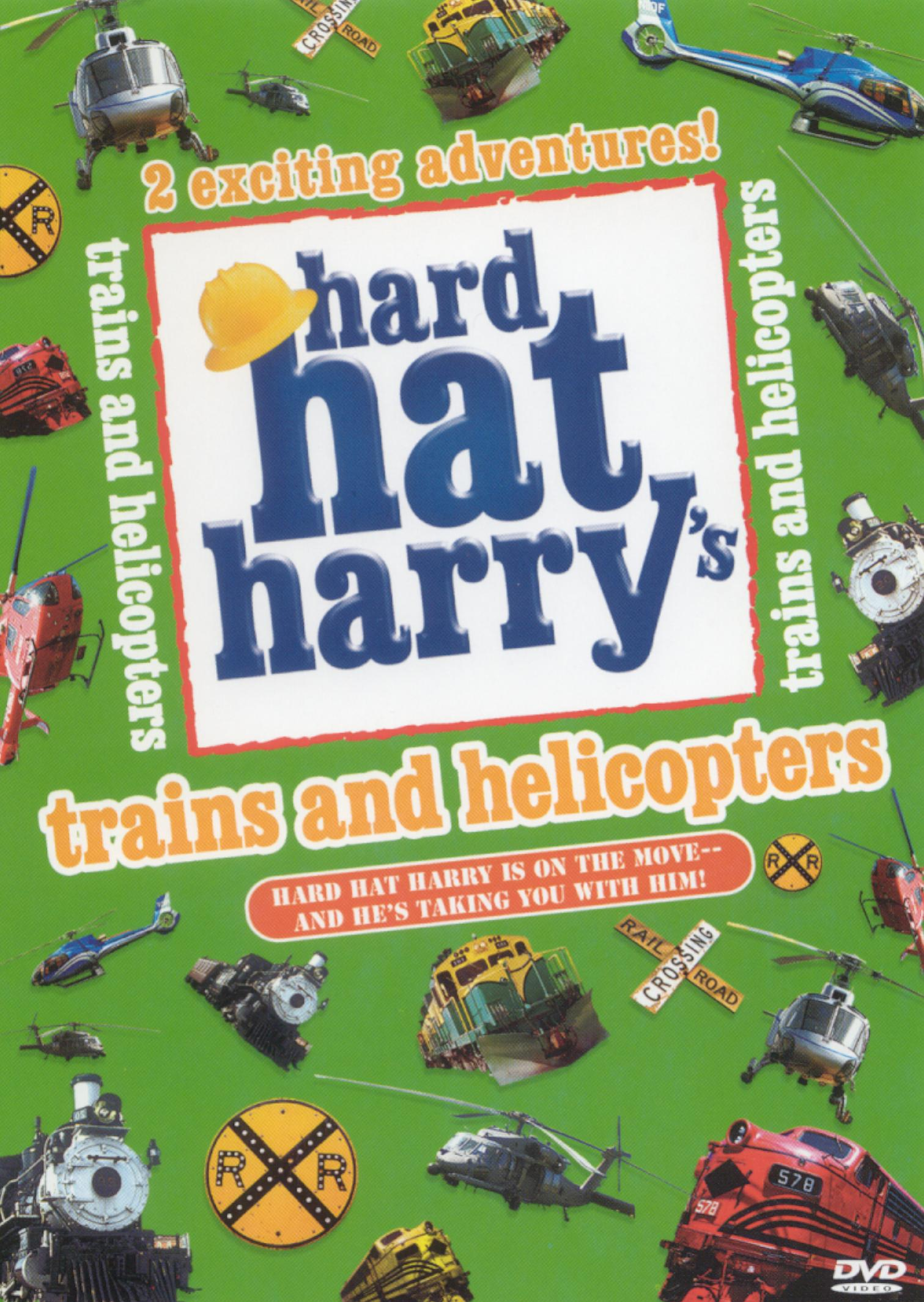 Hard Hat Harry: Trains and Helicopters