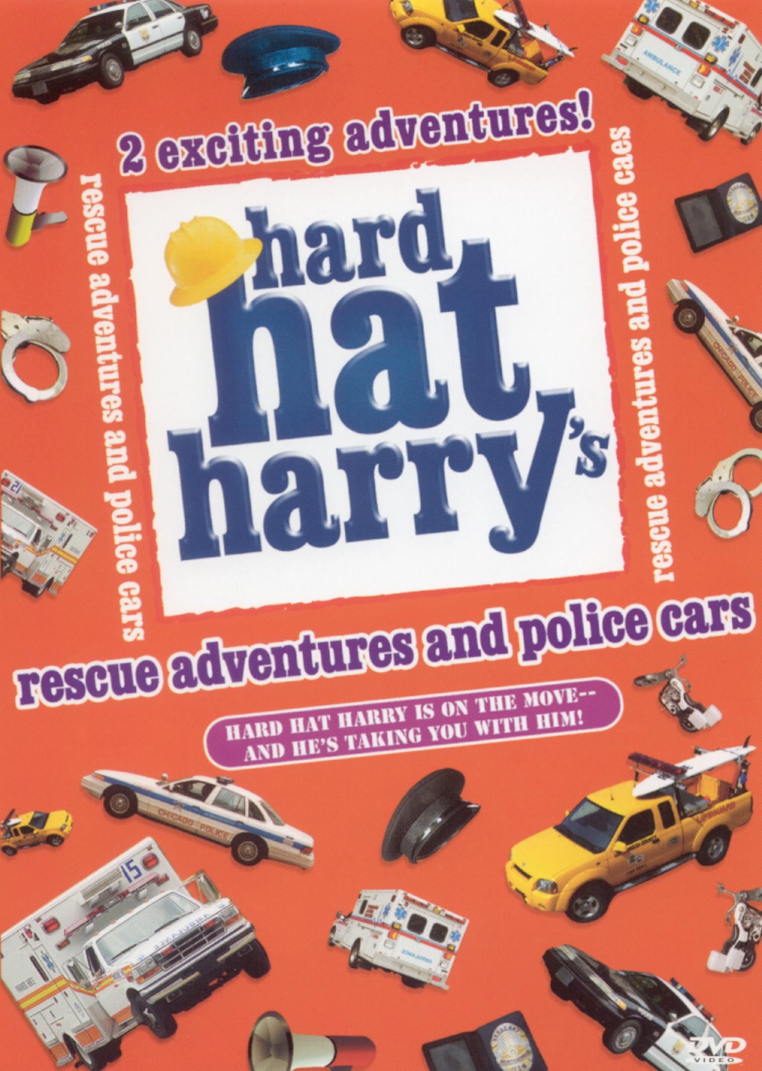 Hard Hat Harry: Rescue Adventures and Police Cars