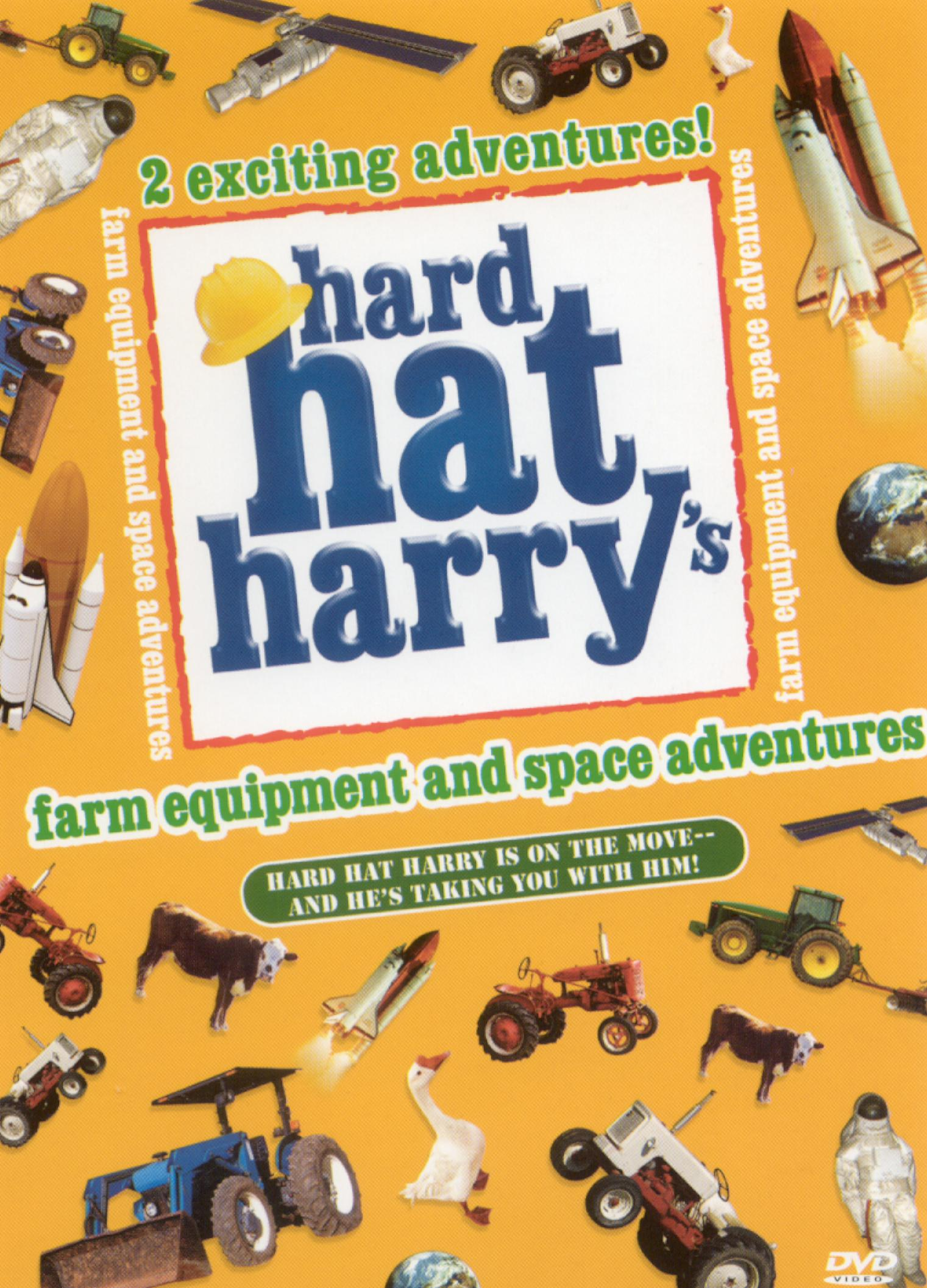 Hard Hat Harry: Farm Equipment and Space Adventures