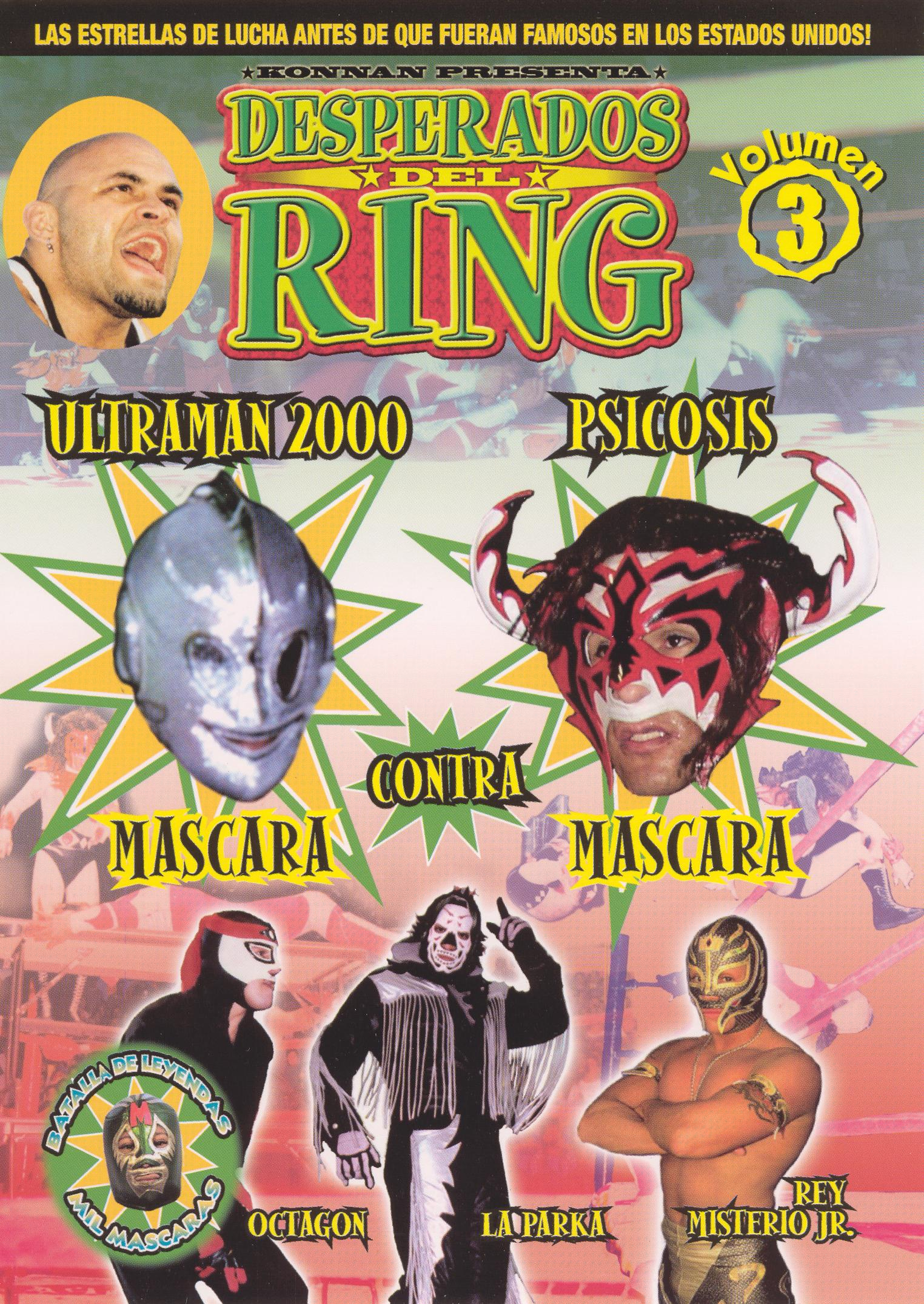 Desperados del Ring, Vol. 3
