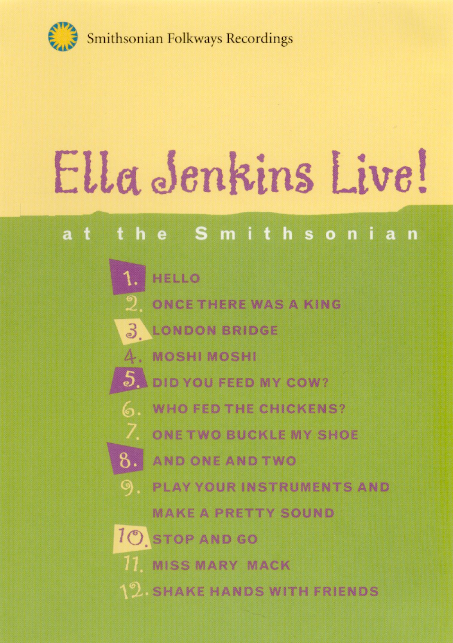 Ella Jenkins Live! at the Smithsonian