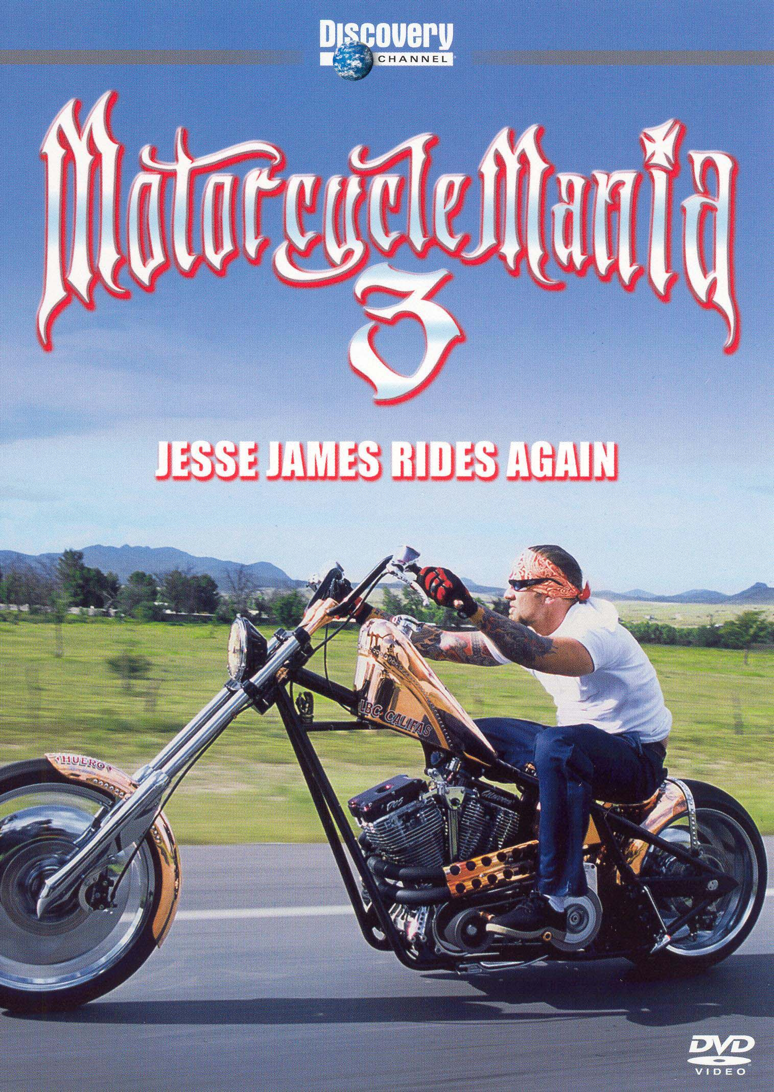 motorcycle mania vol 3 jesse james rides again 2005