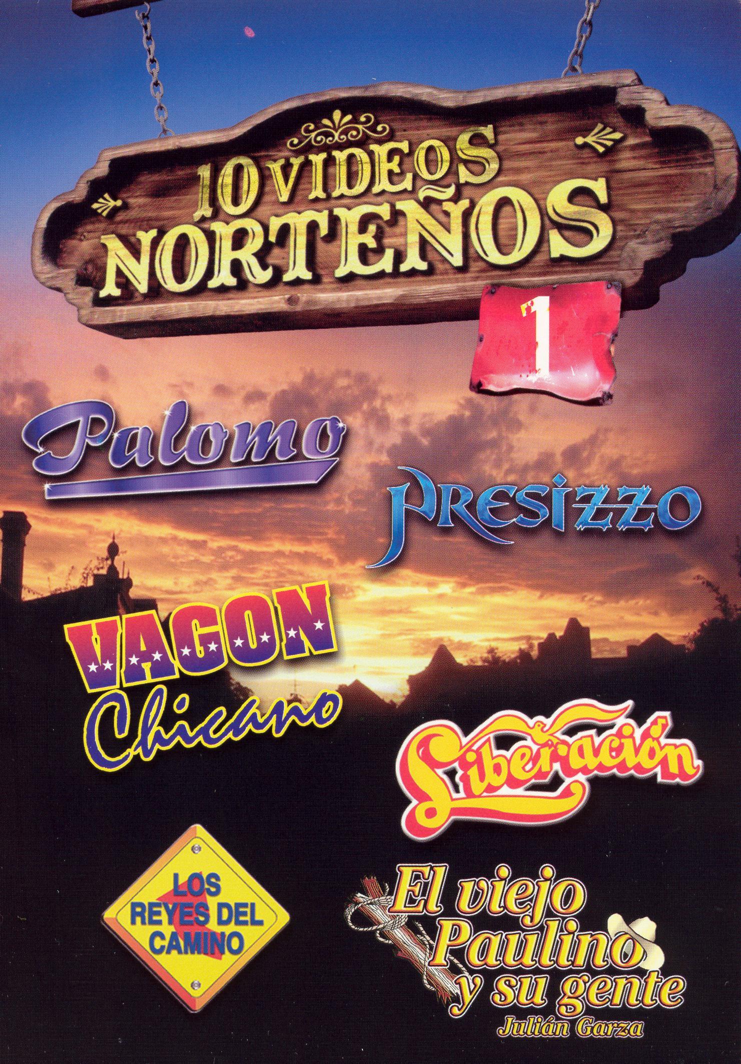 10 Videos Nortenos, Vol. 1