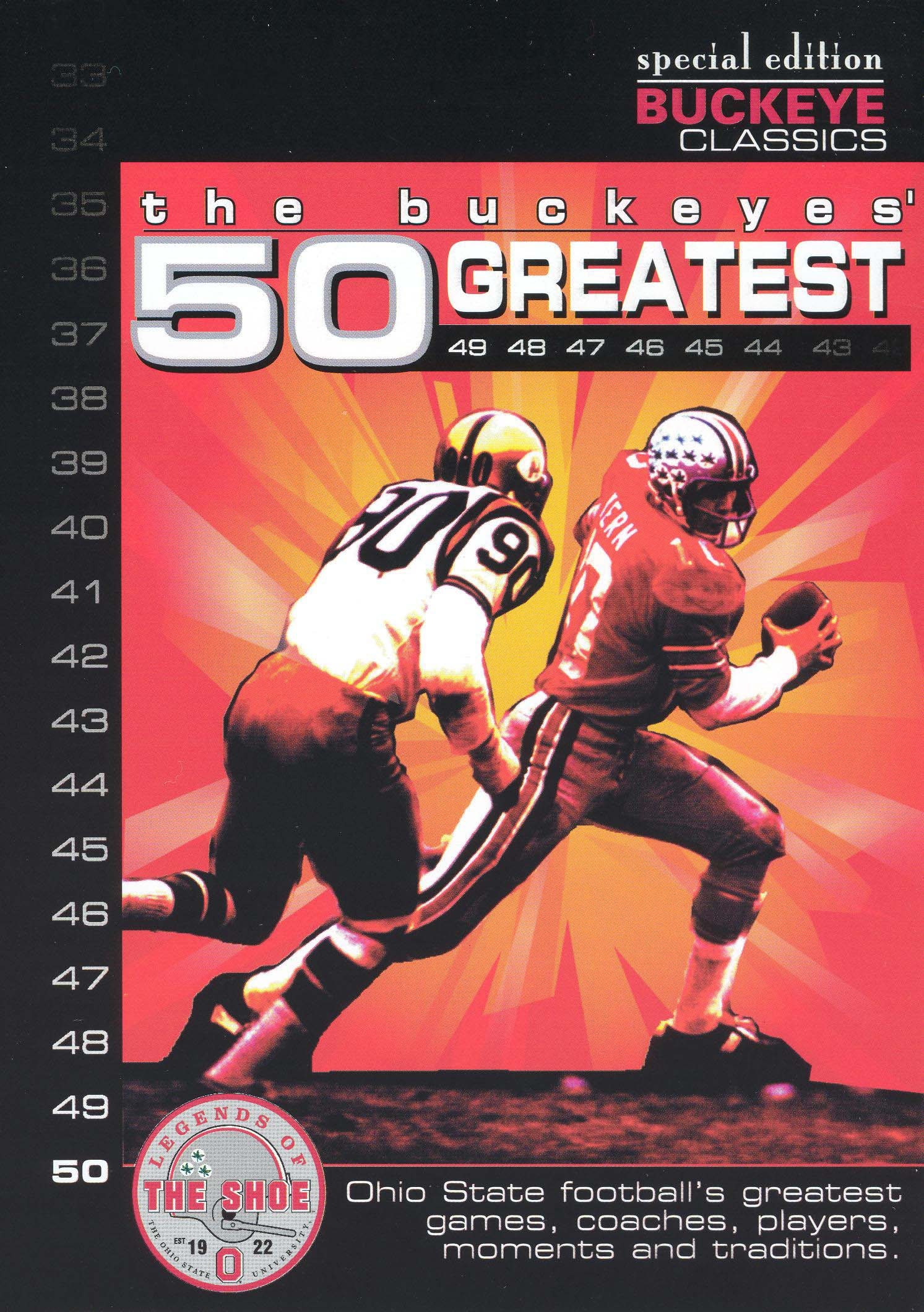 The Buckeyes 50 Greatest