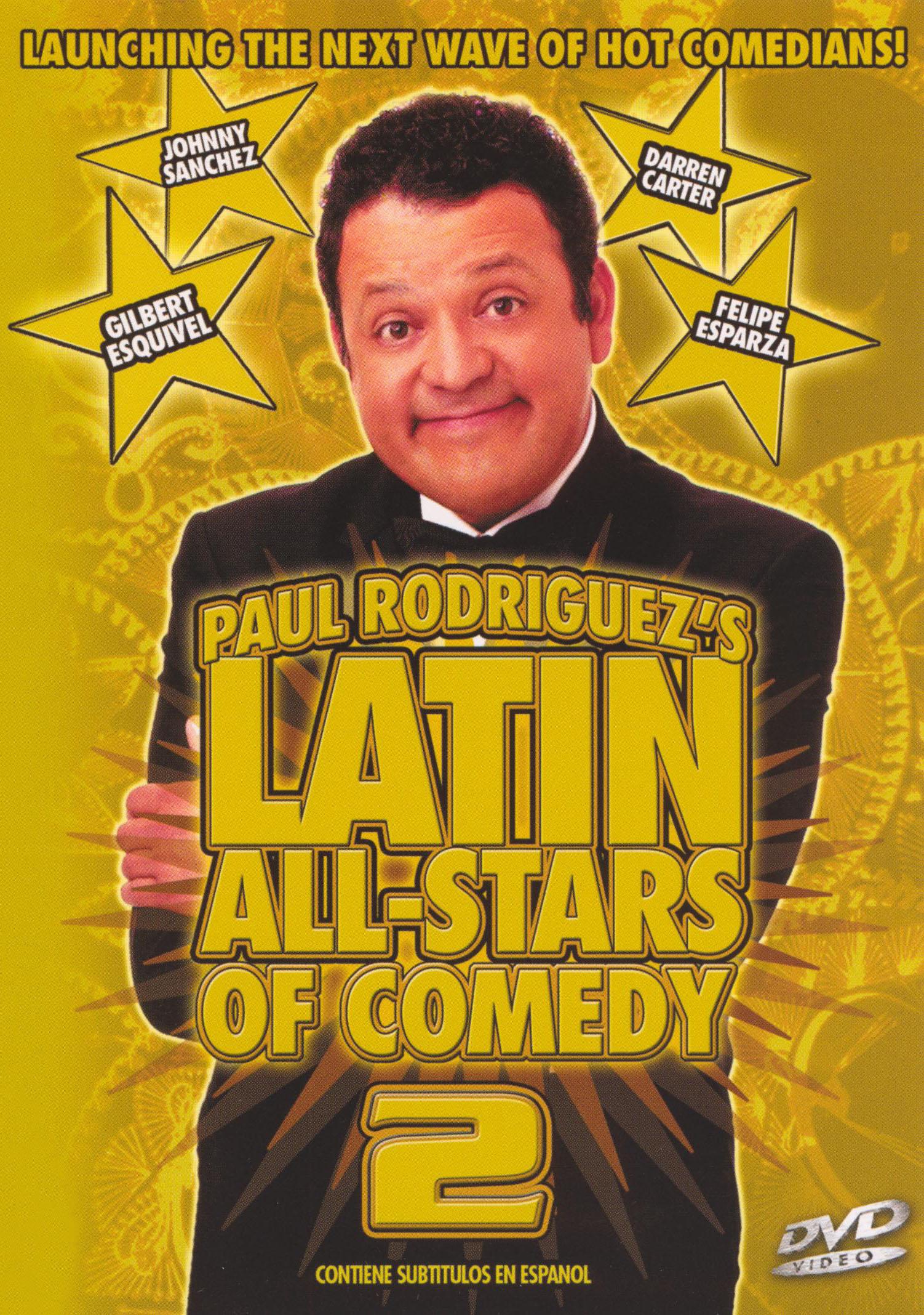 Latin All-Stars of Comedy, Vol. 2