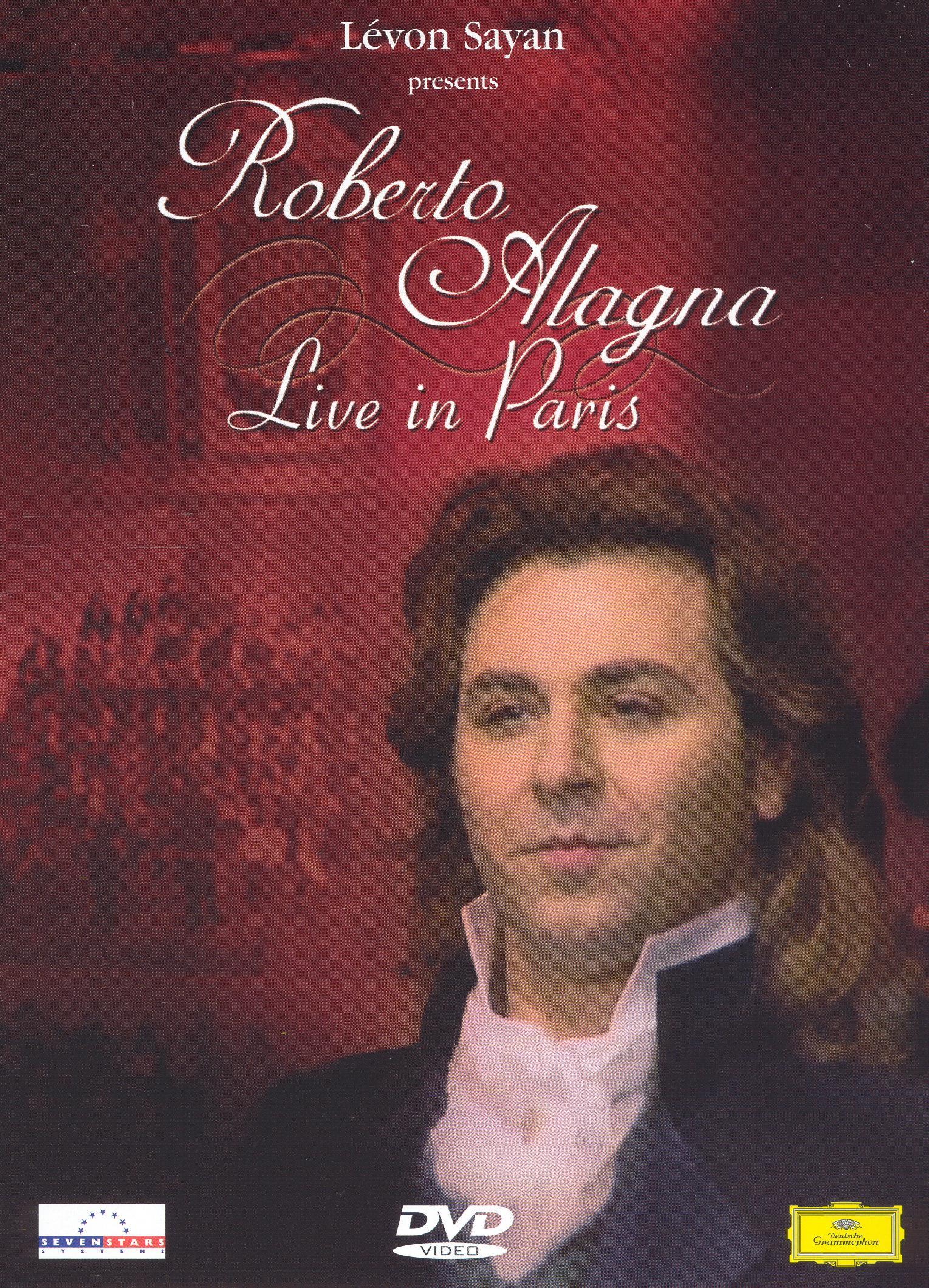 Roberto Alagna Live In Paris