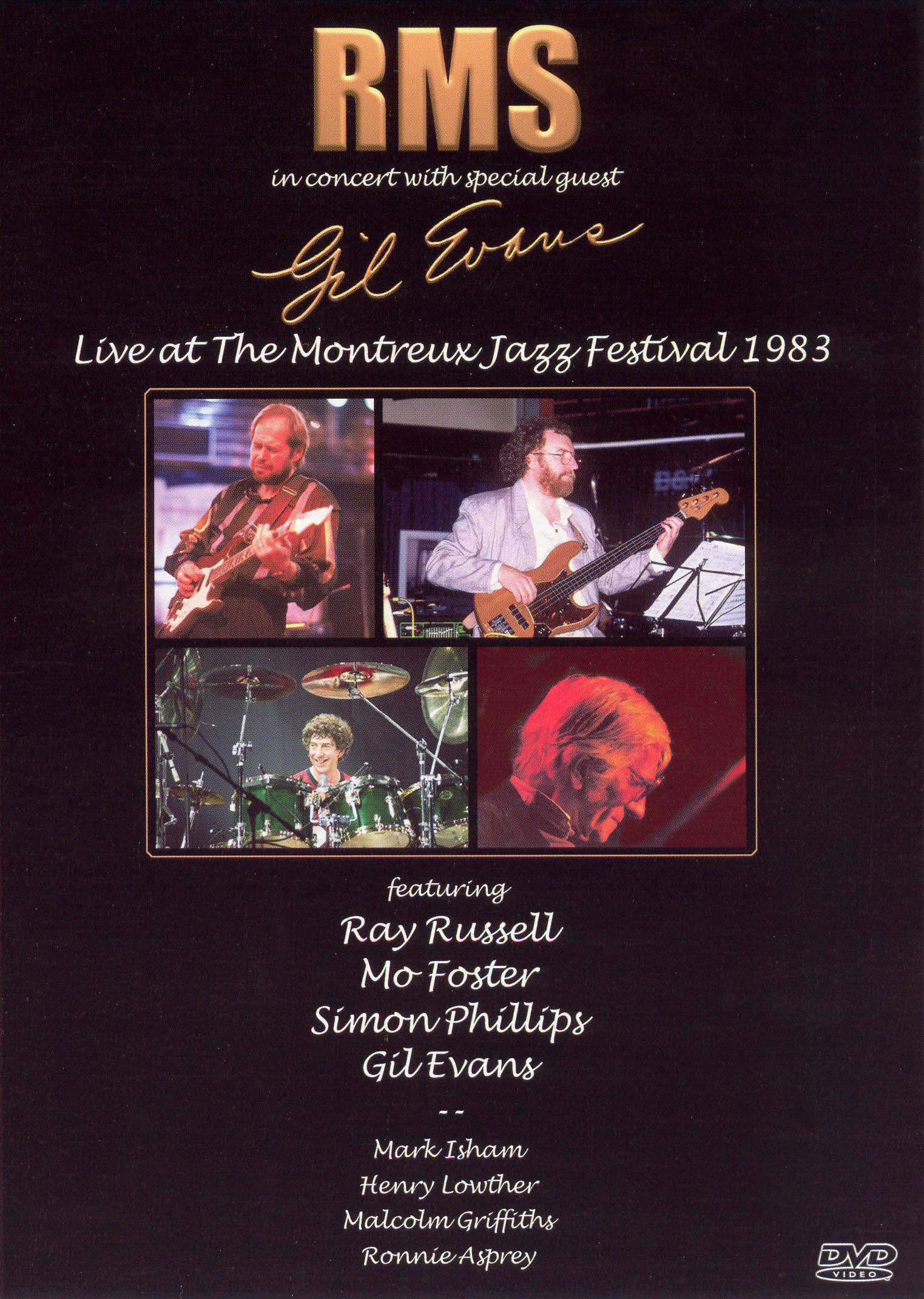 RMS in Concert with Special Guest Gil Evans: Live at the Montreux Jazz Festival 1983