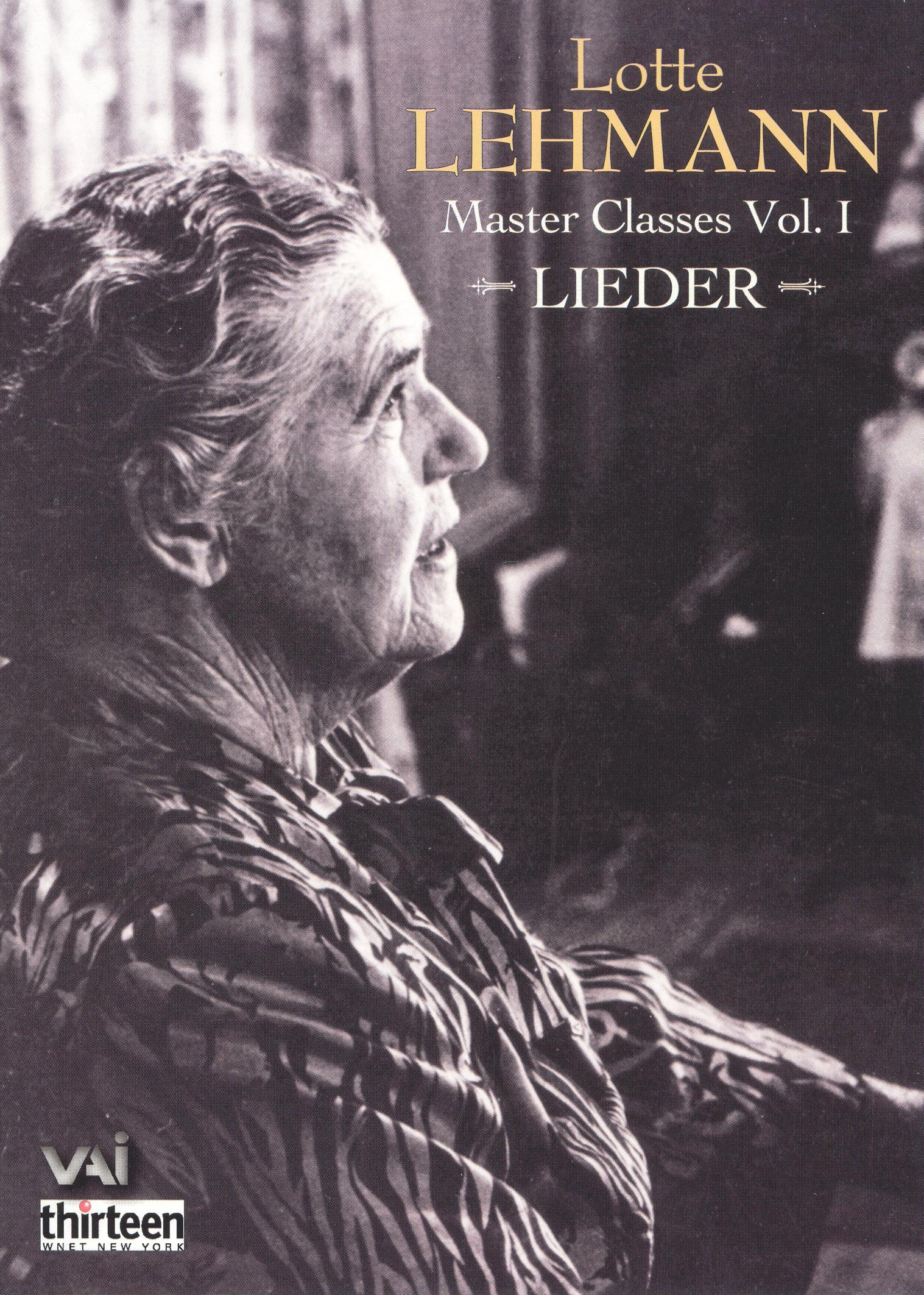 Masterclasses: Lieder