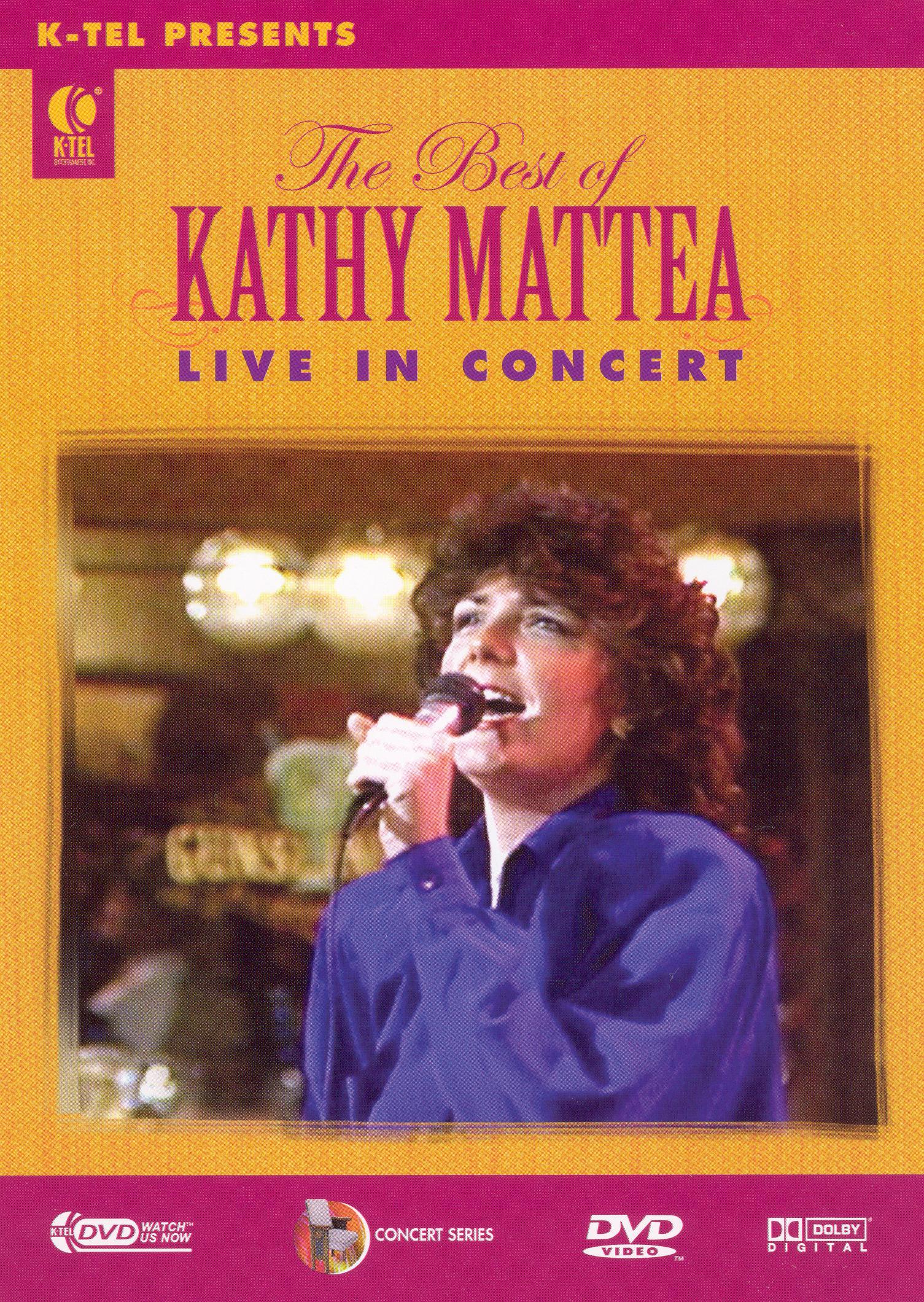 Kathy Mattea: The Best of Kathy Mattea - Live in Concert