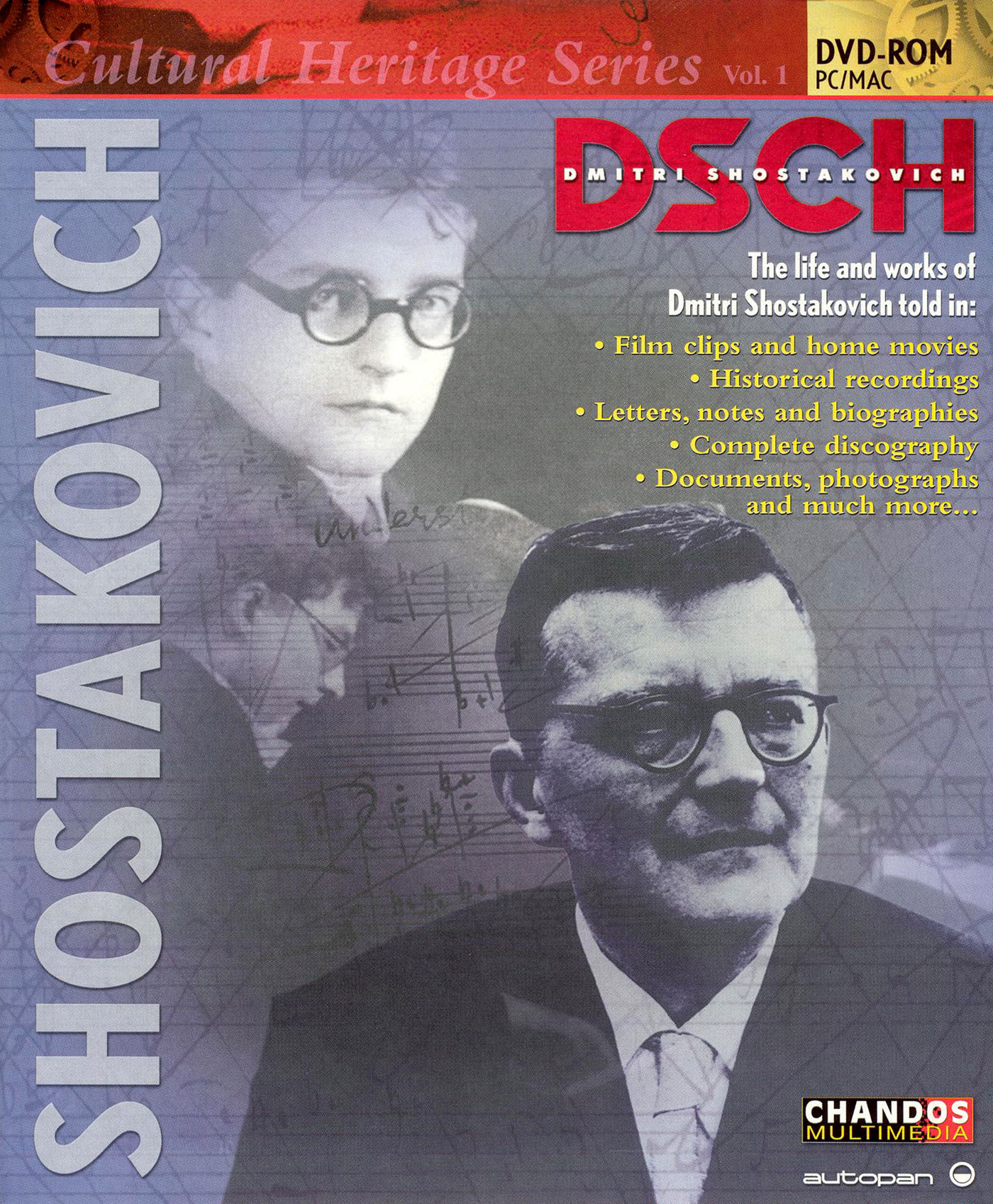 Cultural Heritage Series I: The Life and Works of Dmitri Shostokavich