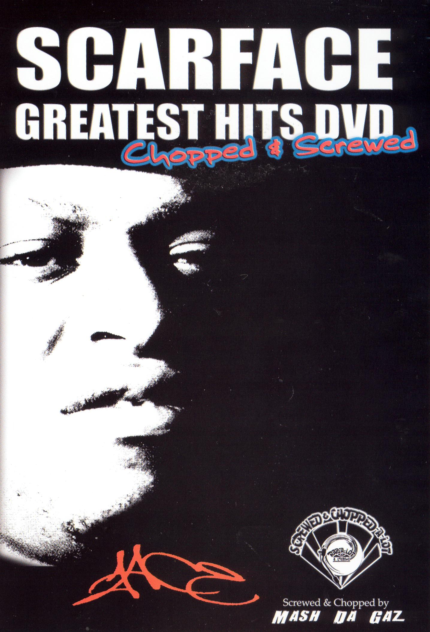 Scarface: Greatest Hits DVD [Chopped & Screwed]