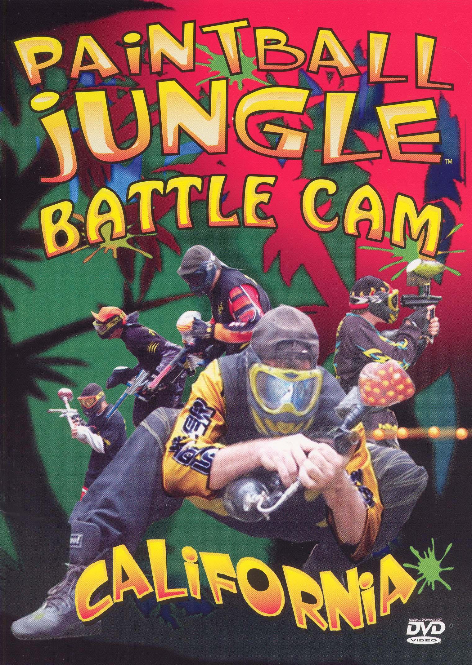 Paintball Jungle Battle Cam