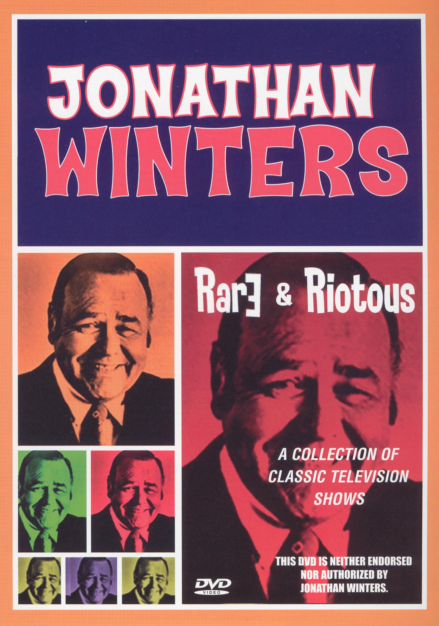 Jonathan Winters: Rare and Riotous