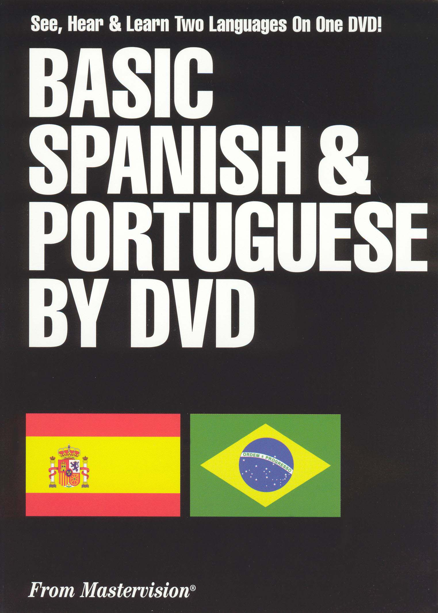 Basic Spanish and Portuguese on Dvd