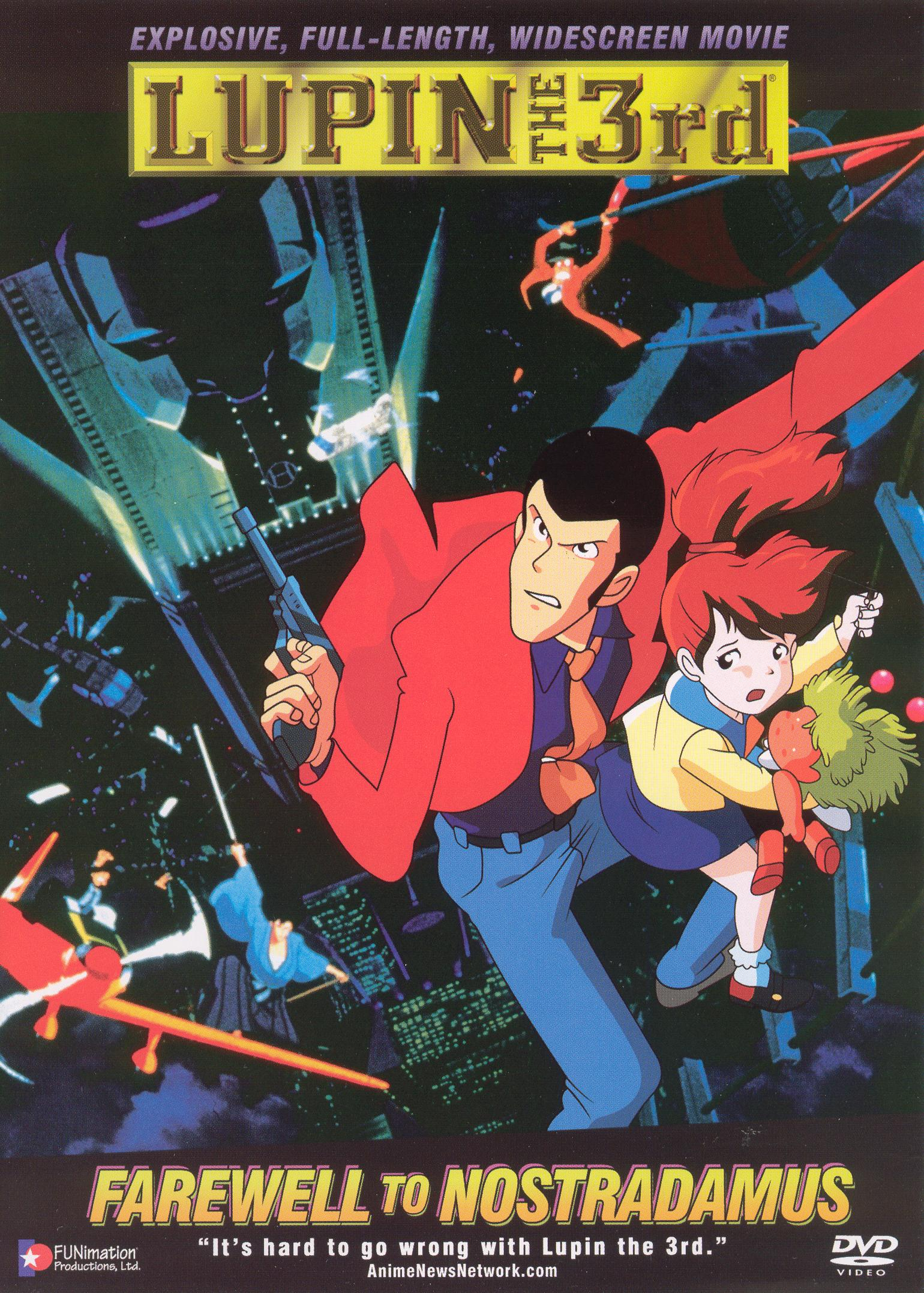 Lupin the 3rd: Farewell To Nostradamus