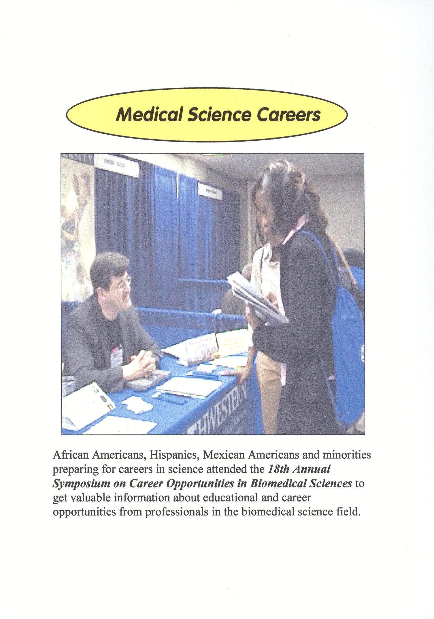 Medical Science Careers