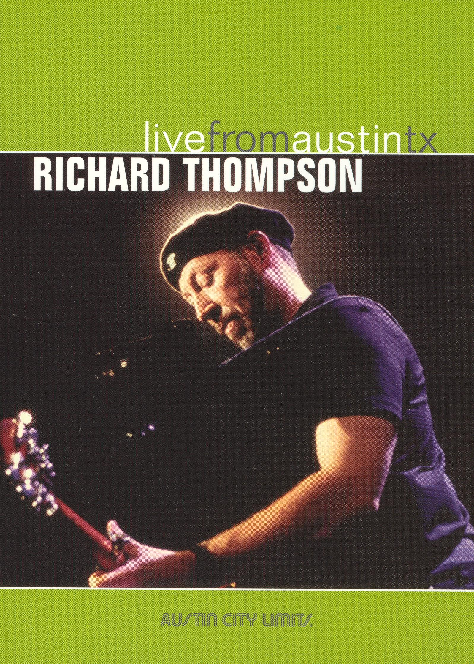 Live From Austin TX: Richard Thompson