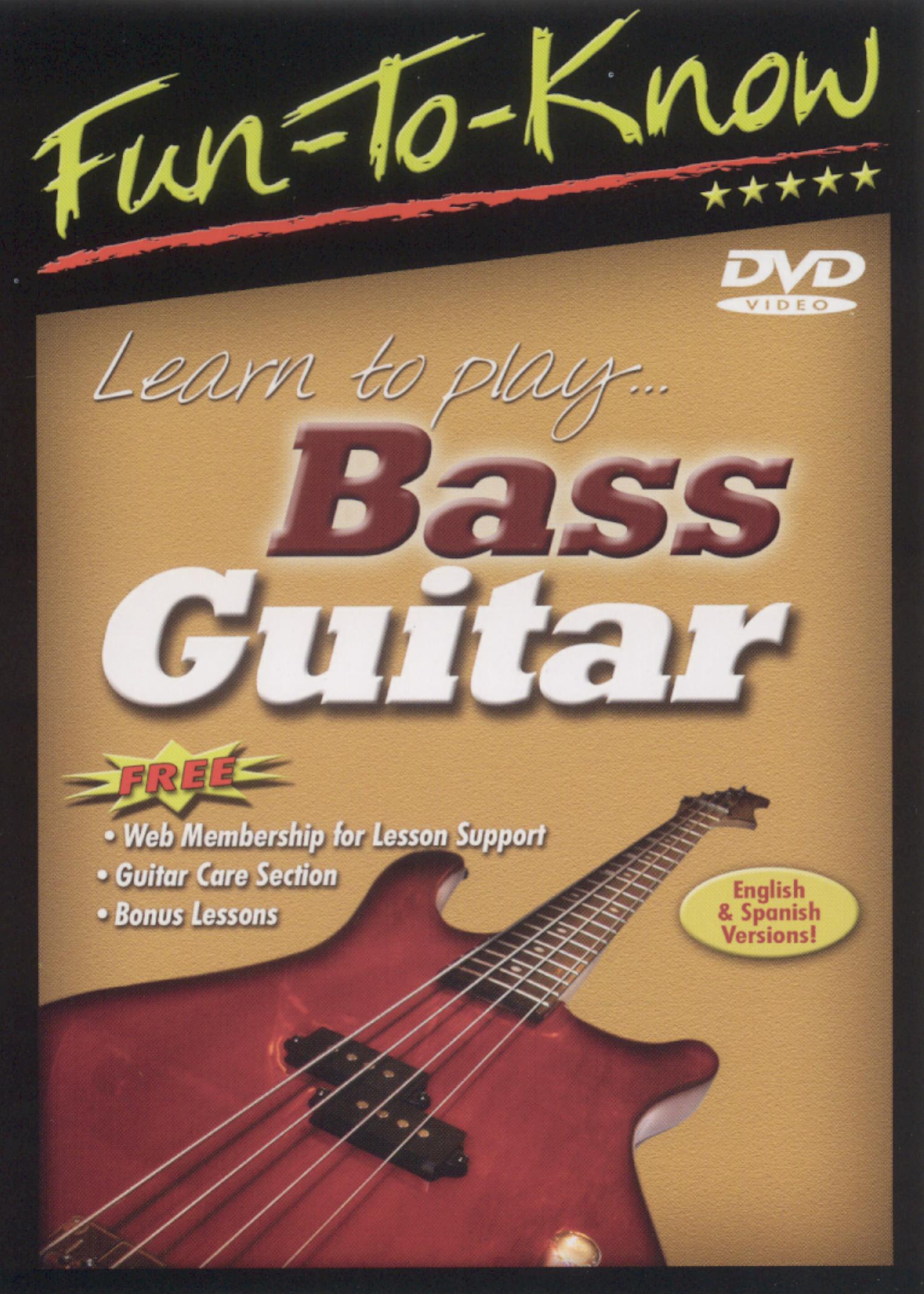 Fun To Know: Bass Guitar