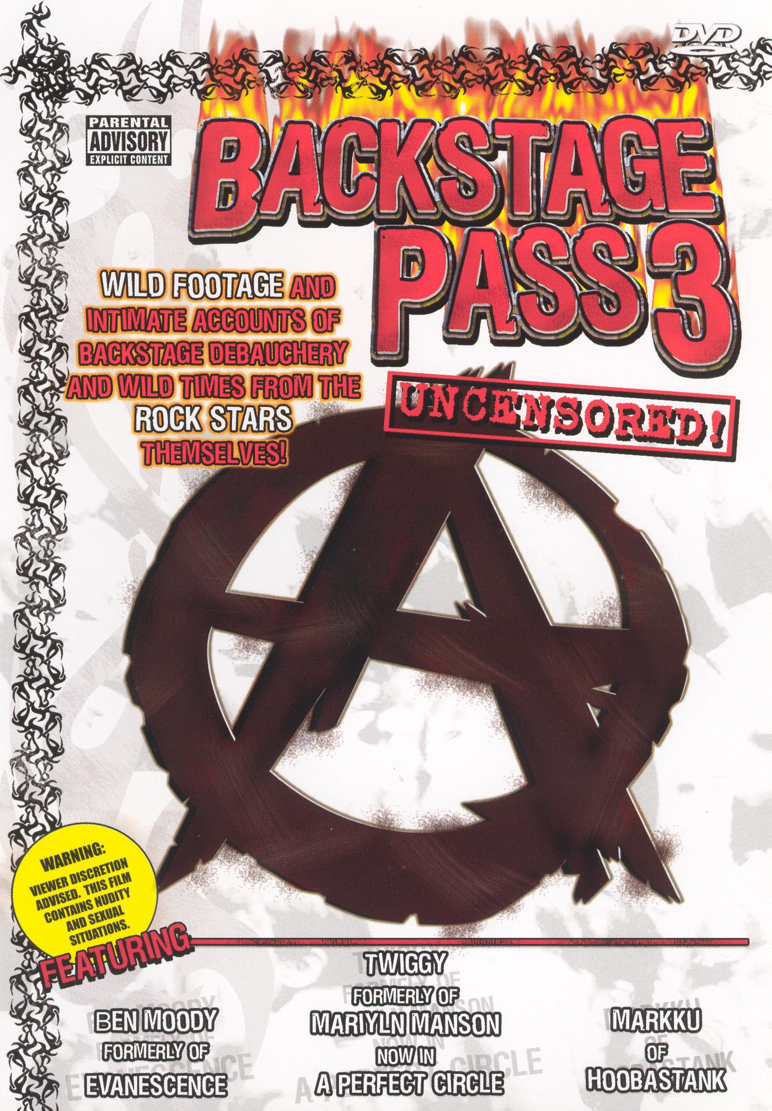 Backstage Pass 3: Uncensored!
