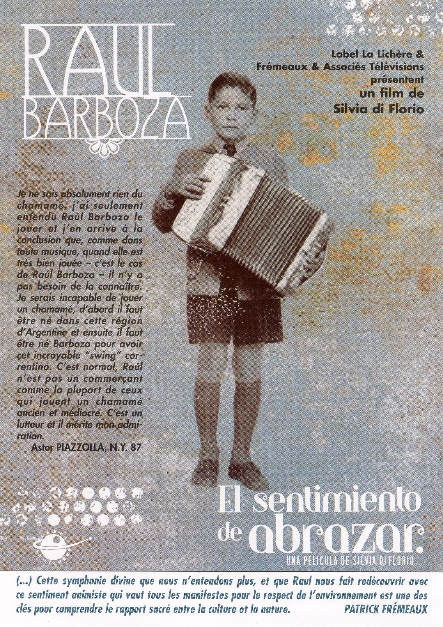 Raul Barboza: El Sentimiento De Abrazar
