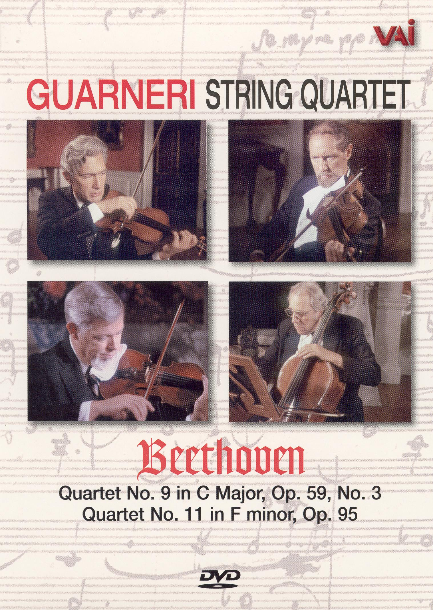 Guarneri String Quartet: The Beethoven Cycle