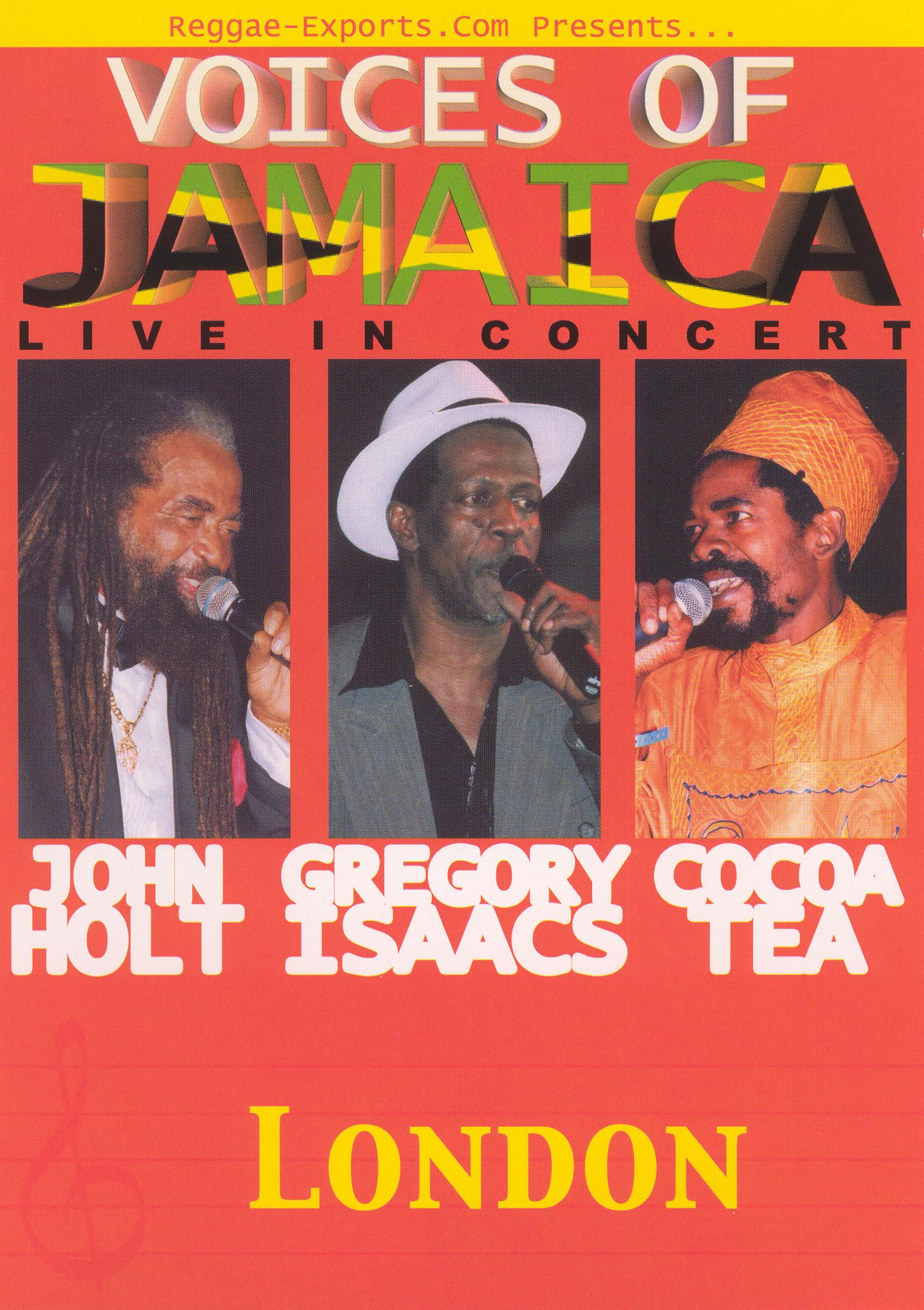 Voices of Jamaica: Live in Concert