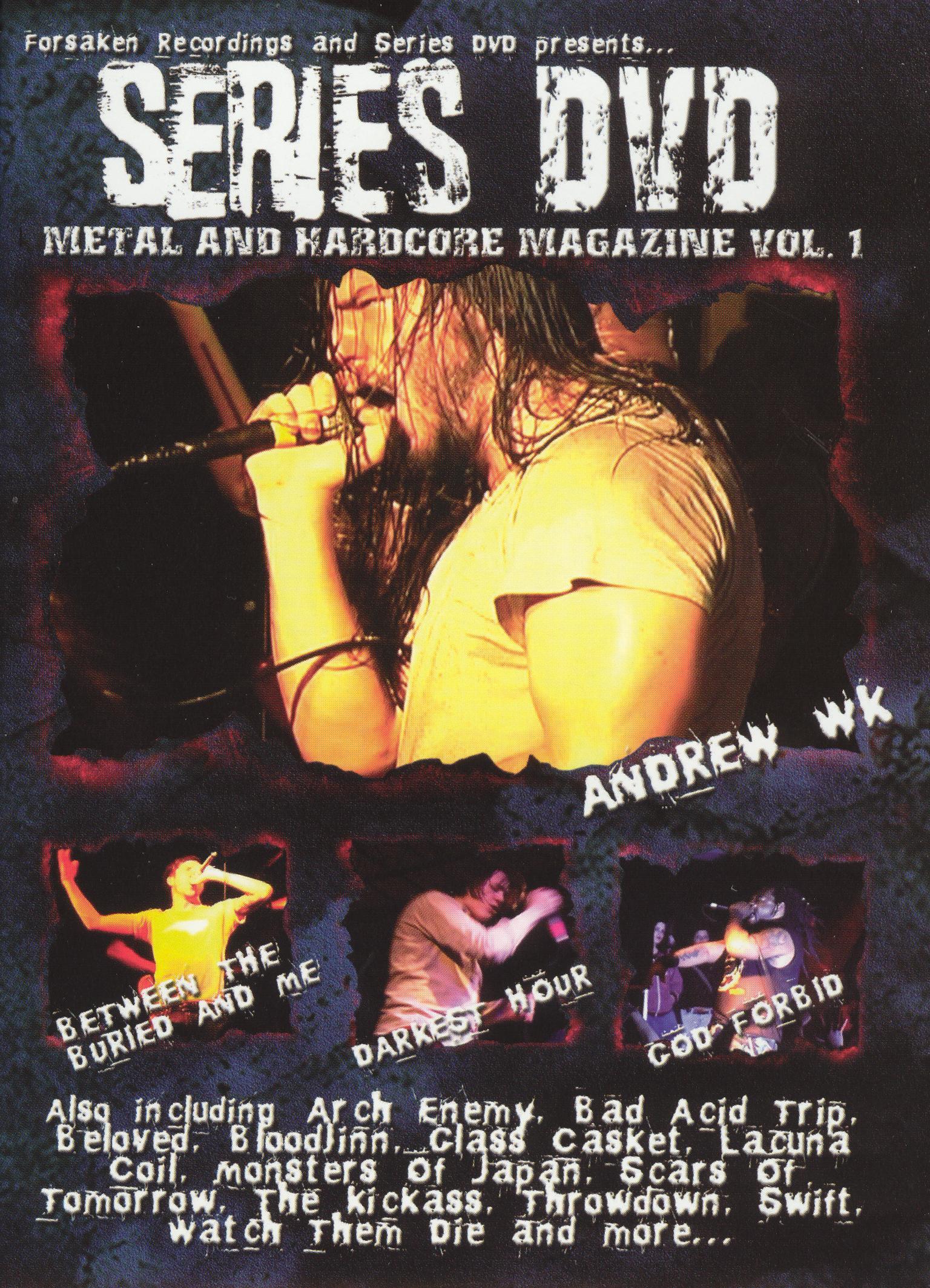 Series DVD: Metal and Hardcore, Vol. 1