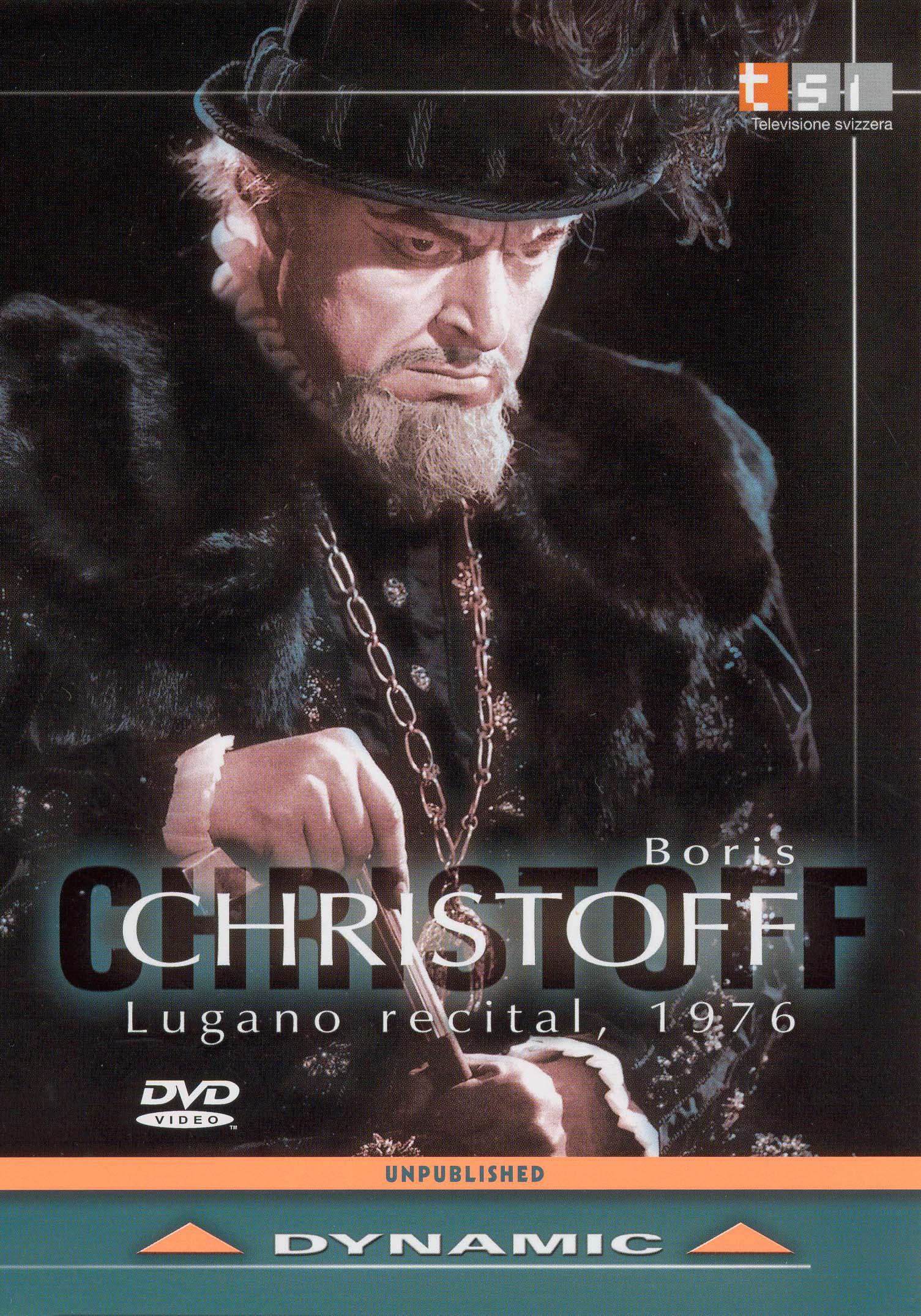 Christoff Boris: Lugano Recital 1976