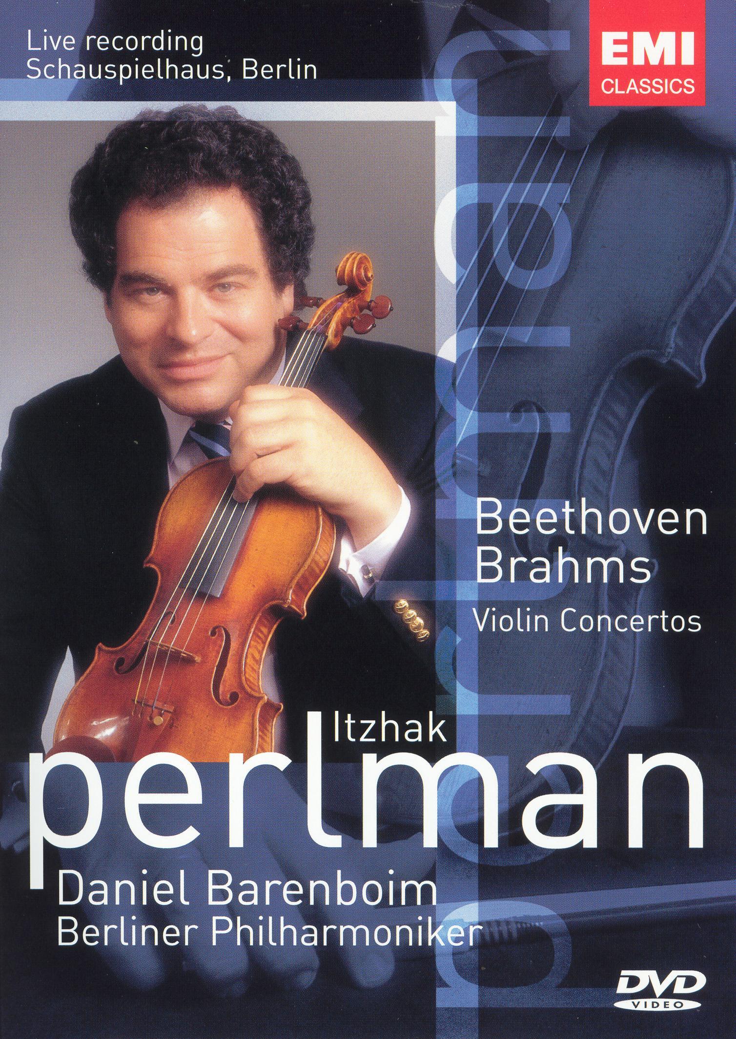 Itzhak Perlman: Beethoven/Brahms Violin Concertos