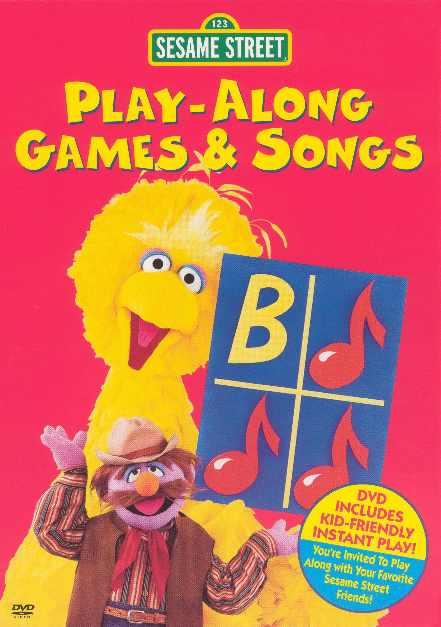 Sesame Street: Play-Along Games and Songs
