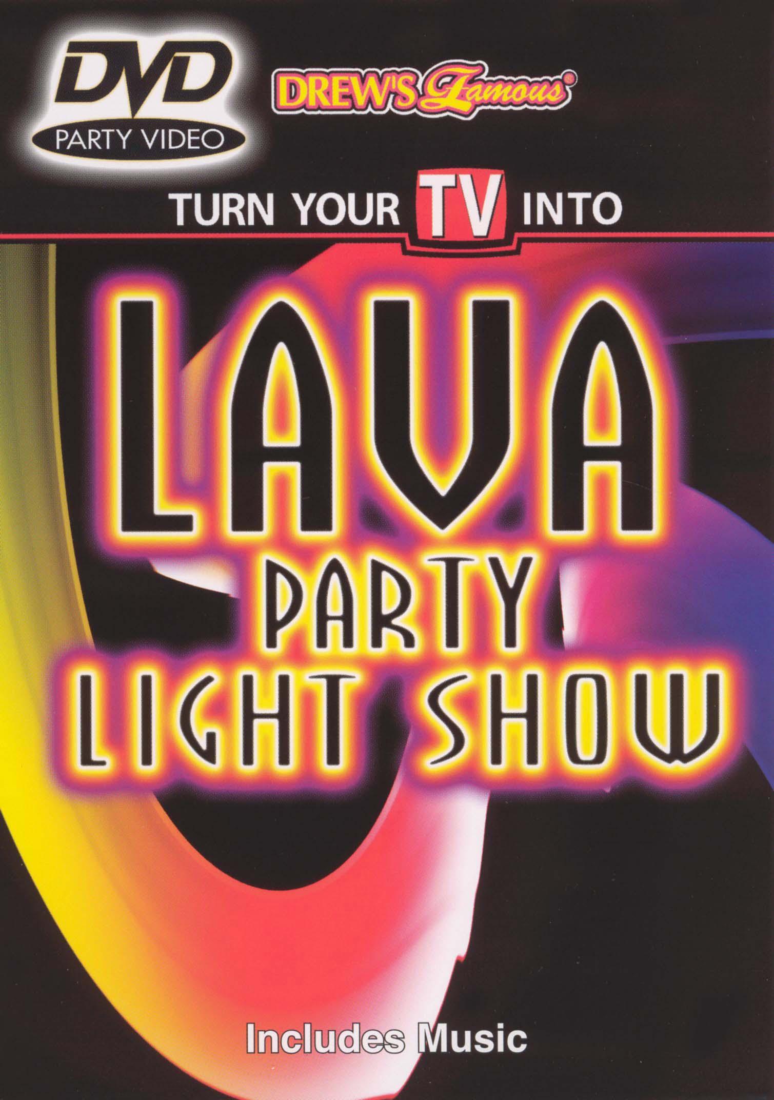 Lava Party Light Show