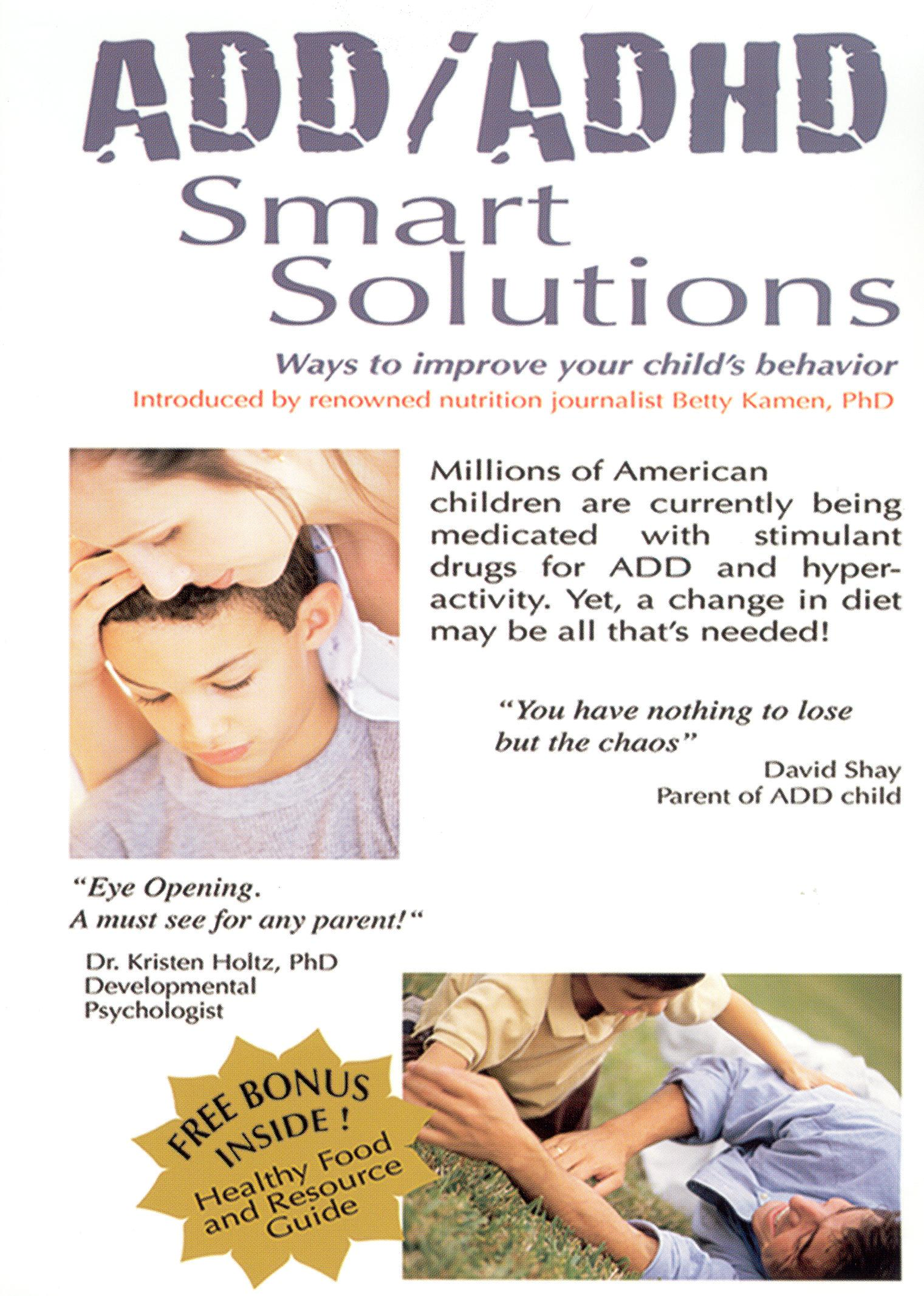 ADD/ADHD: Smart Solutions