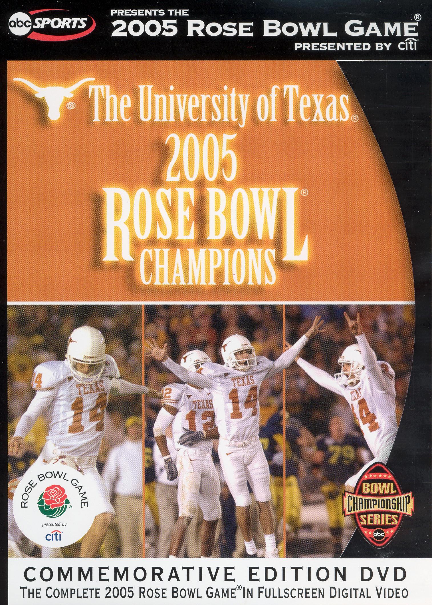 2005 University of Texas Rose Bowl