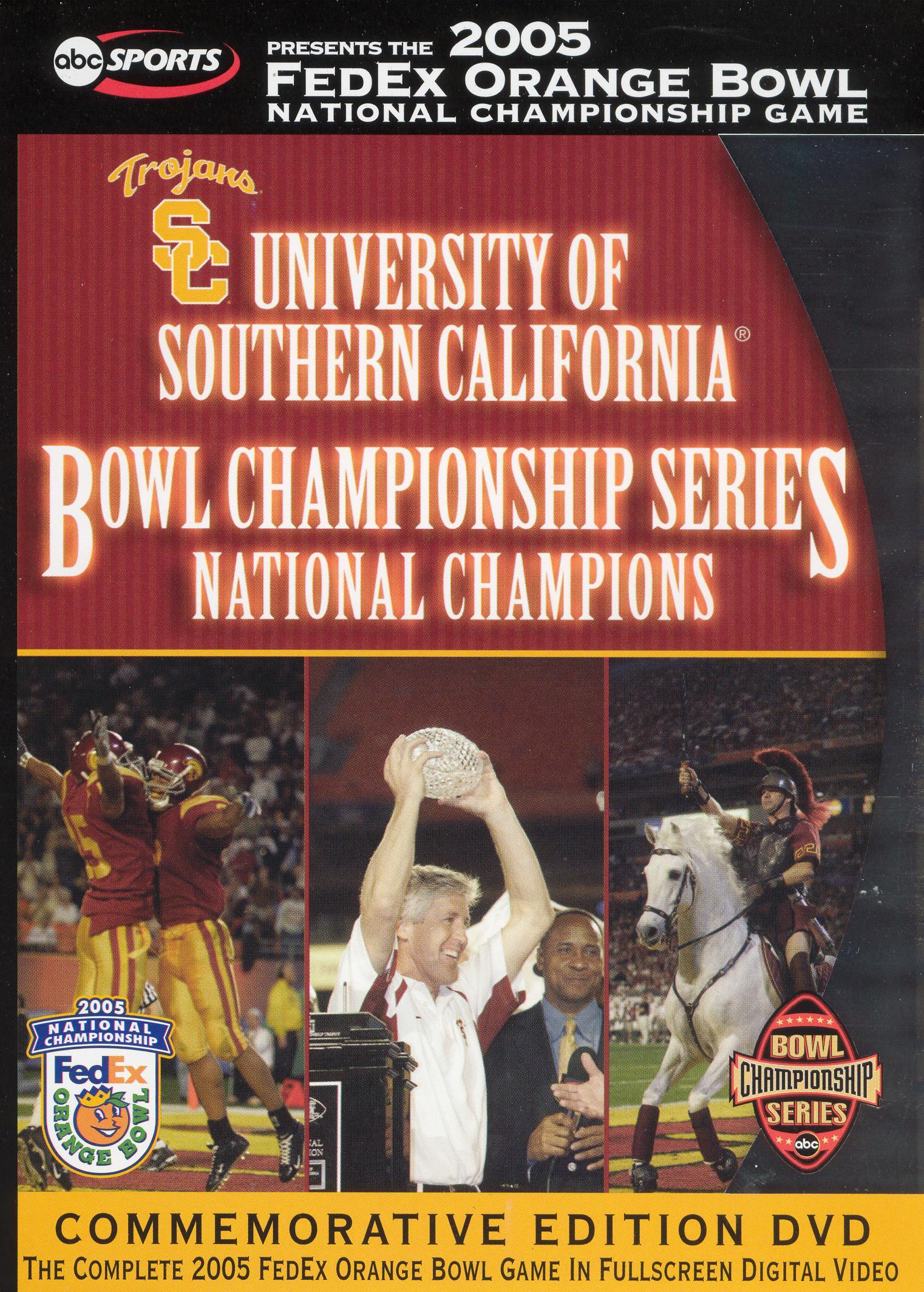 2005 USC Orange Bowl - National Champs