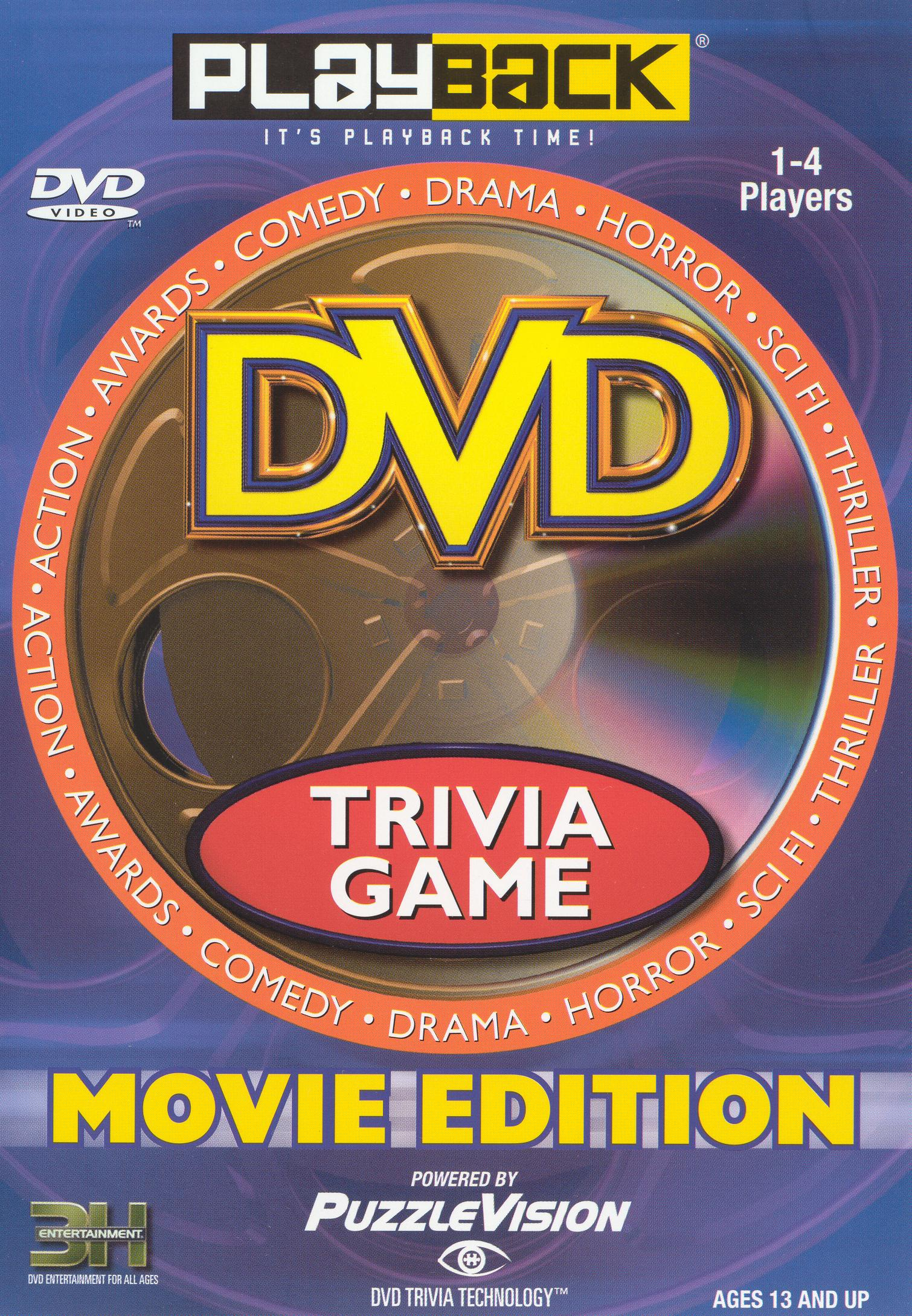 Playback DVD Movie Trivia Game [Instructional]