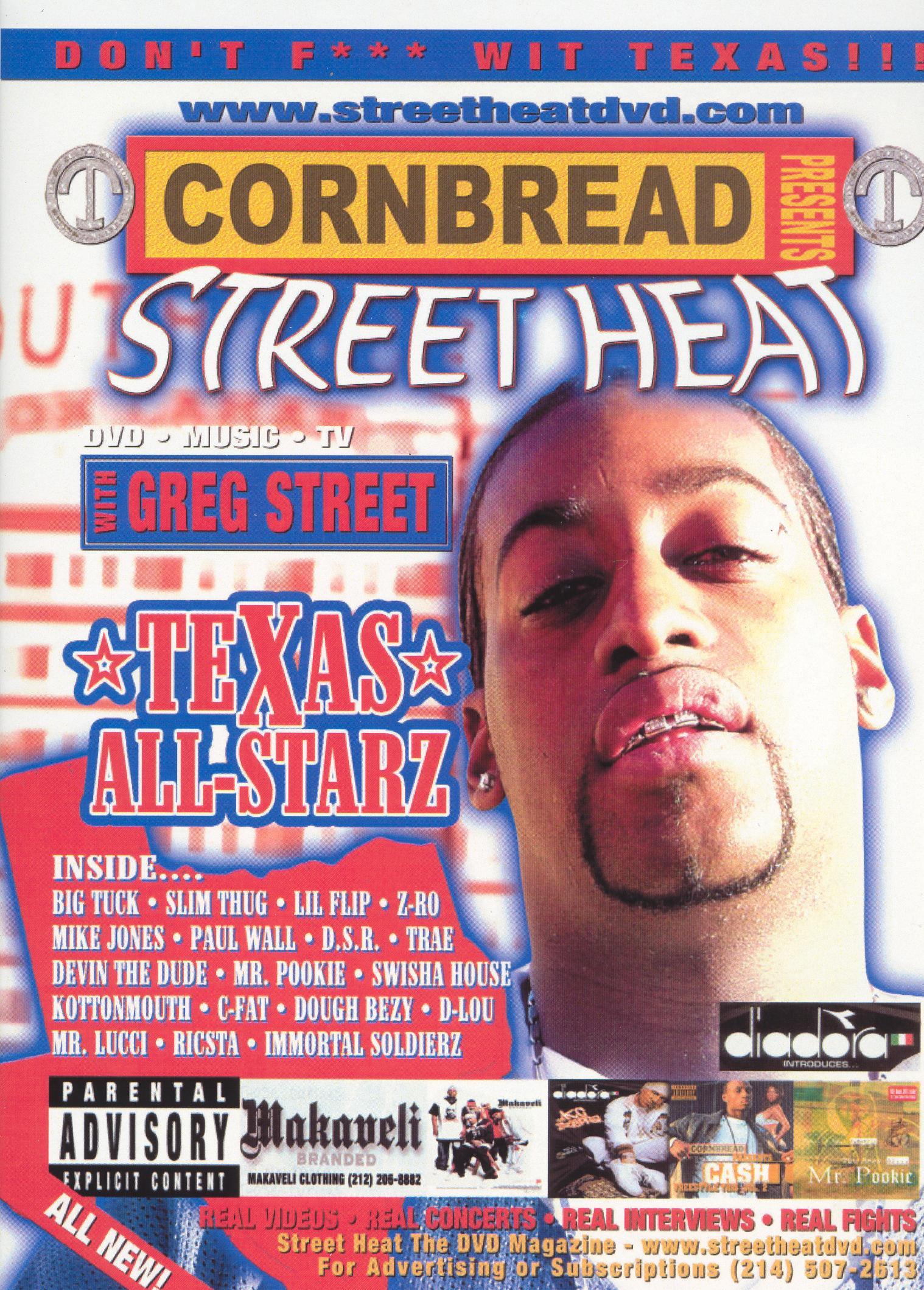 Cornbread Presents Street Heat, Vol. 9