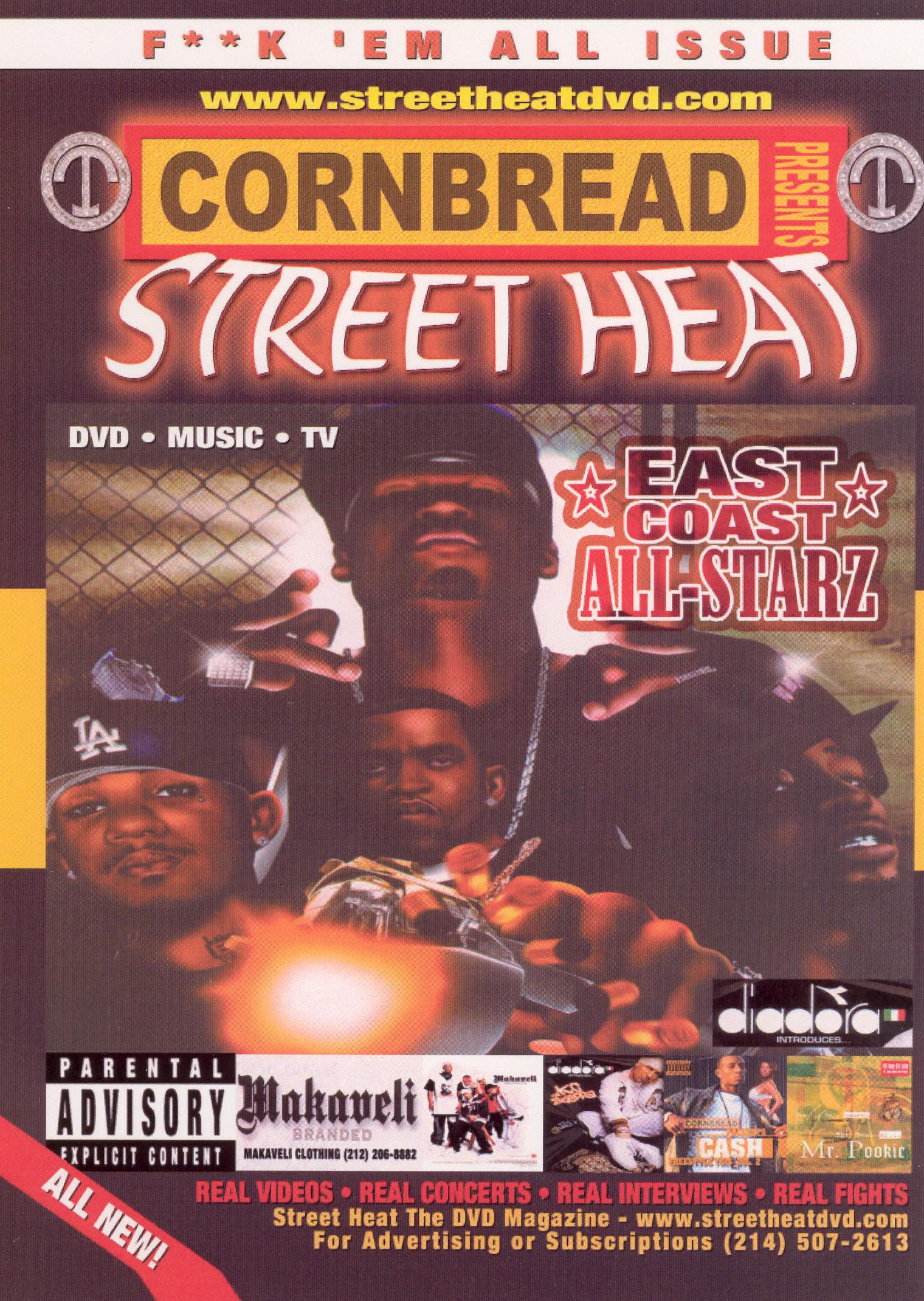 Cornbread Presents Street Heat, Vol. 12: East Coast All Starz