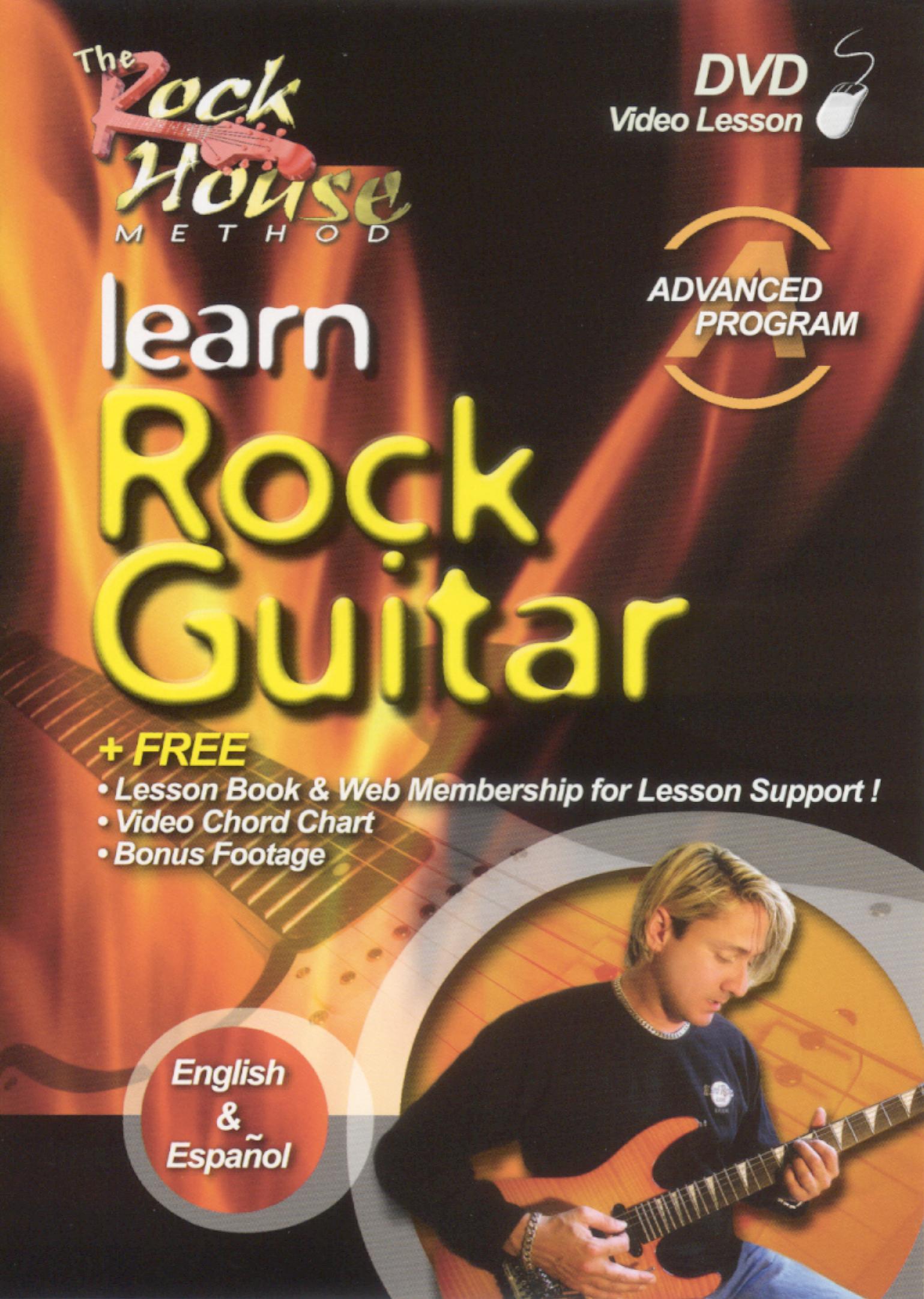The Rock House Method: Learn Rock Guitar Advanced