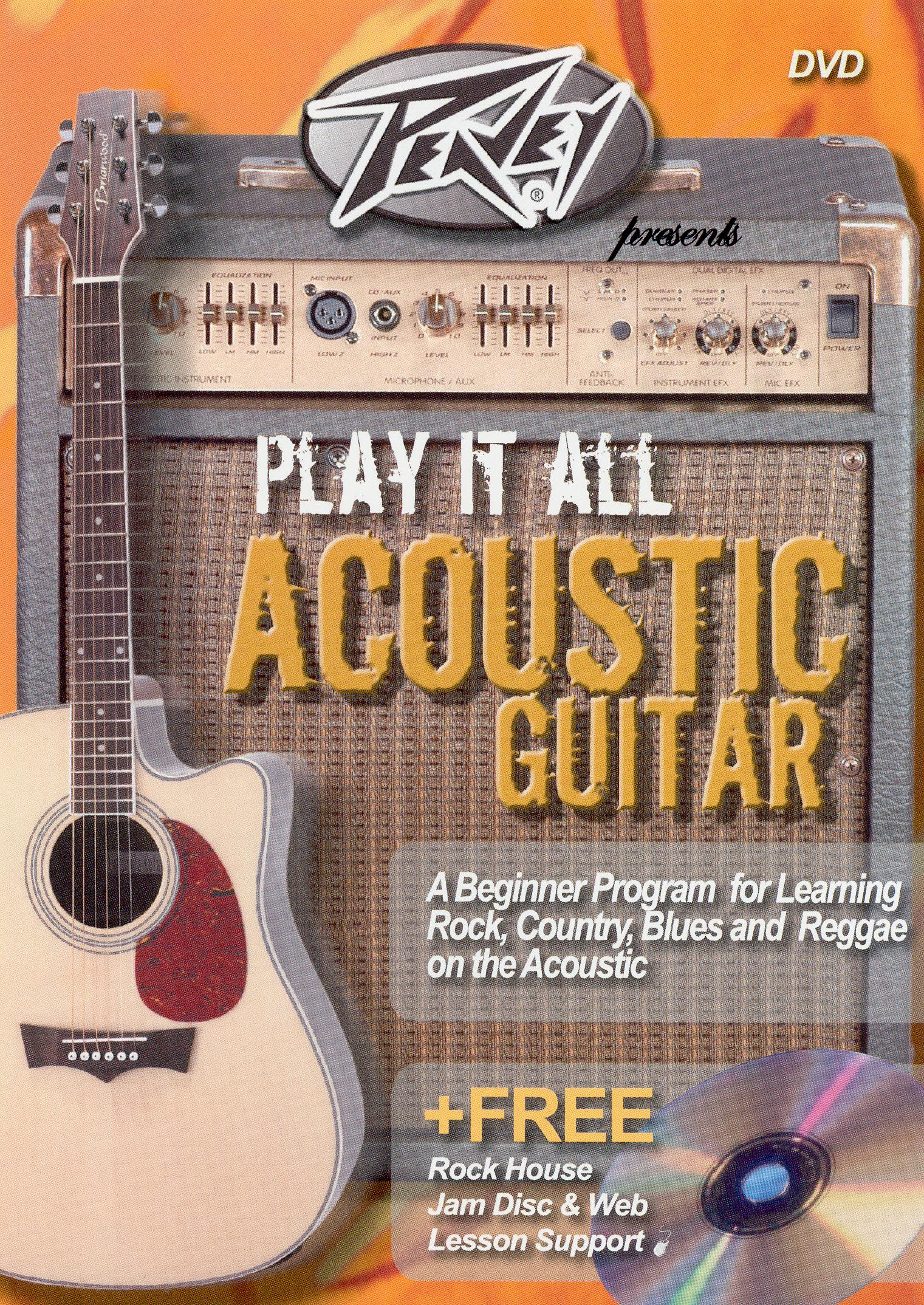 Peavey Presents Play It All On Acoustic Guitar