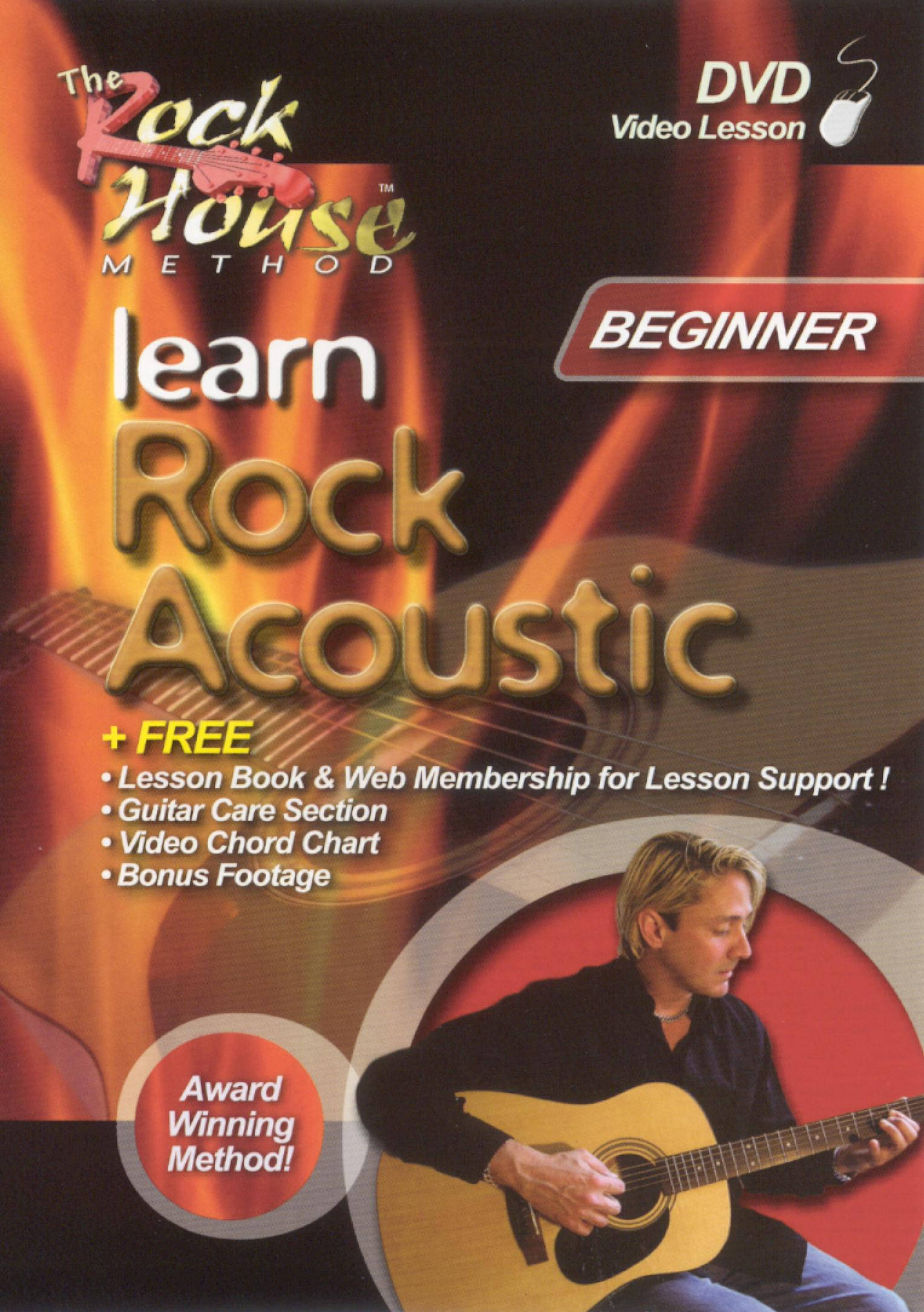The Rock House Method: Learn Rock Acoustic - Level 1