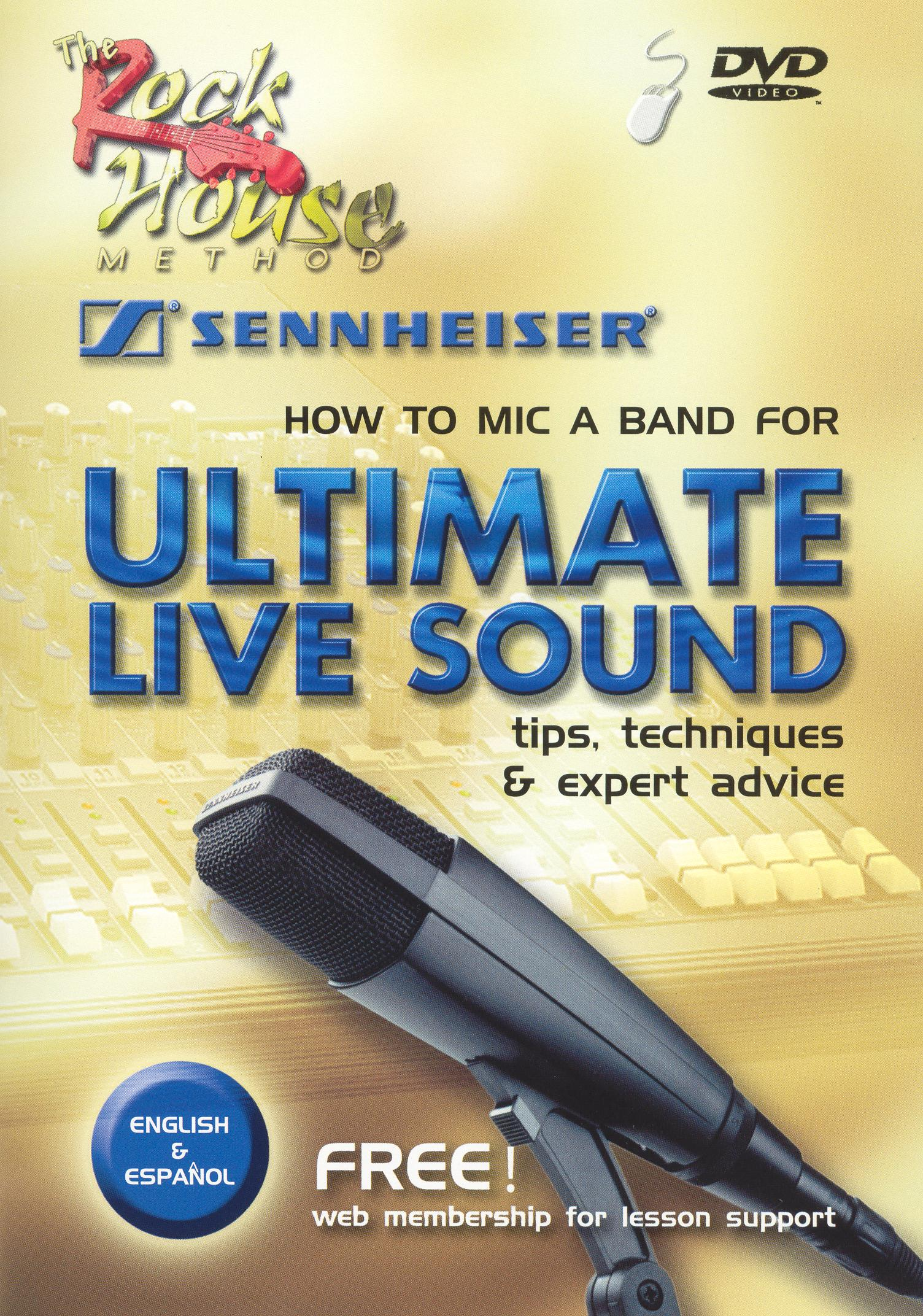 The Rock House Method: How To Mic a Band For Ultimate Live Sound