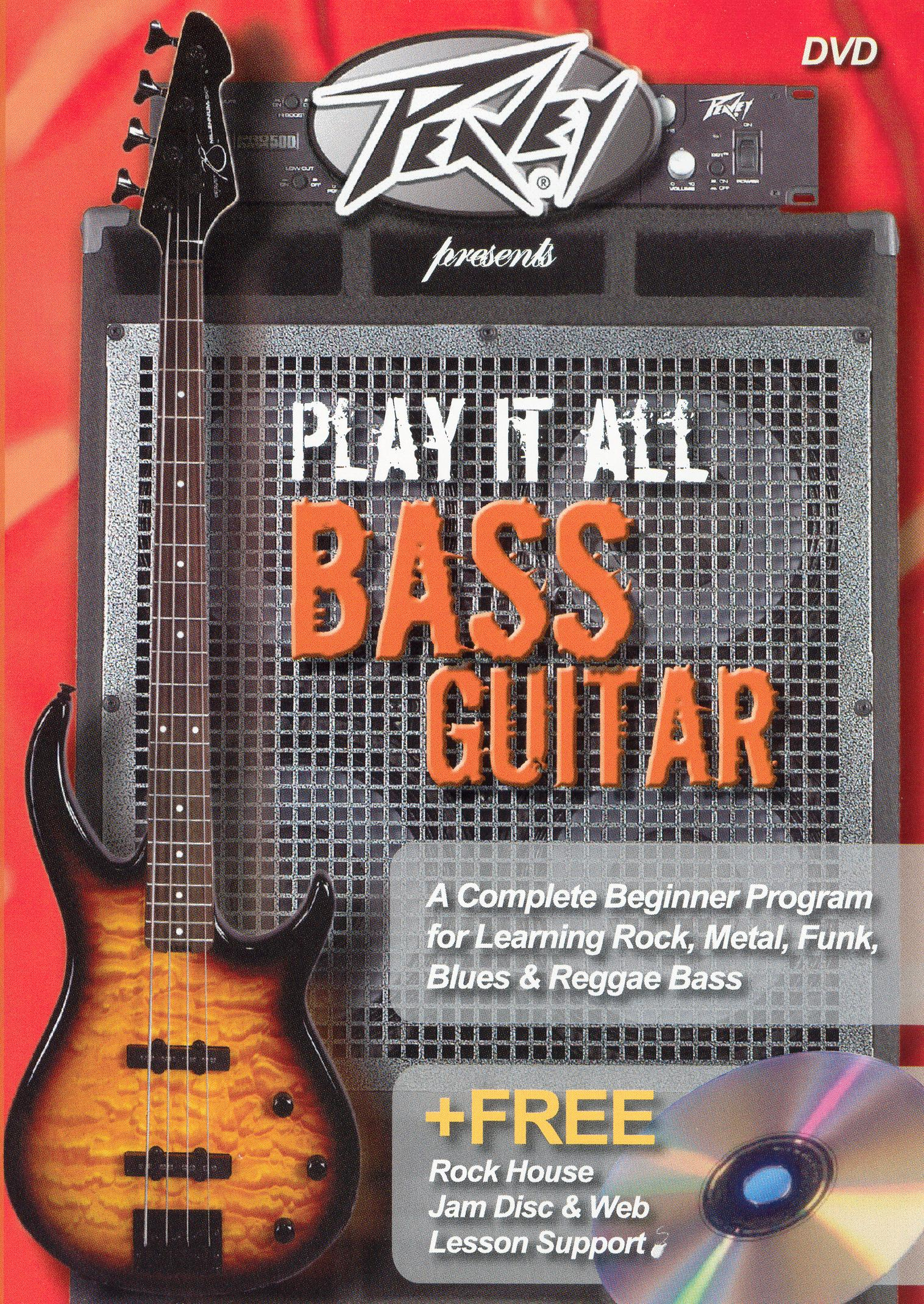 Peavey Presents Play It All On Bass Guitar