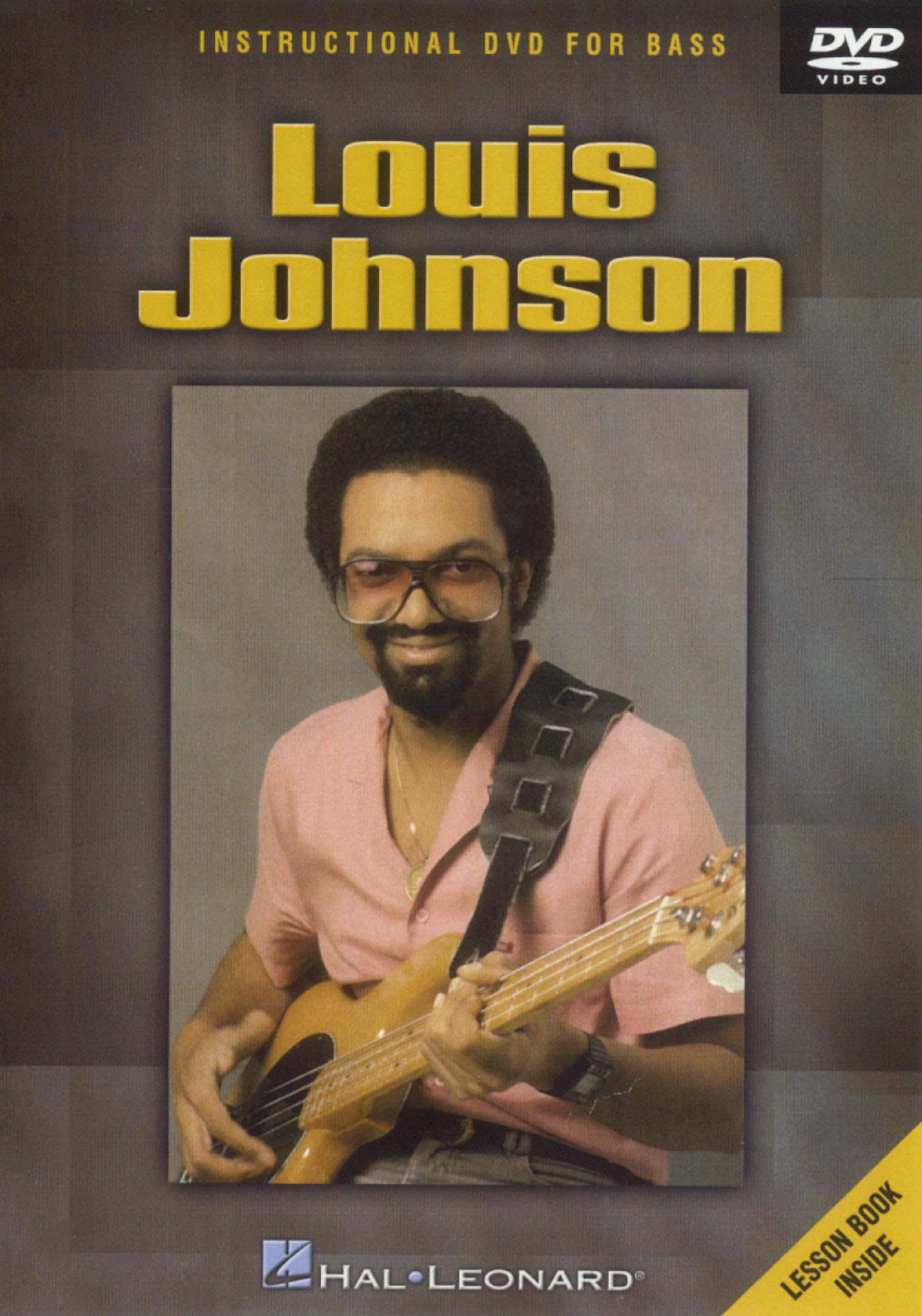 Louis Johnson: Instructional DVD for Bass