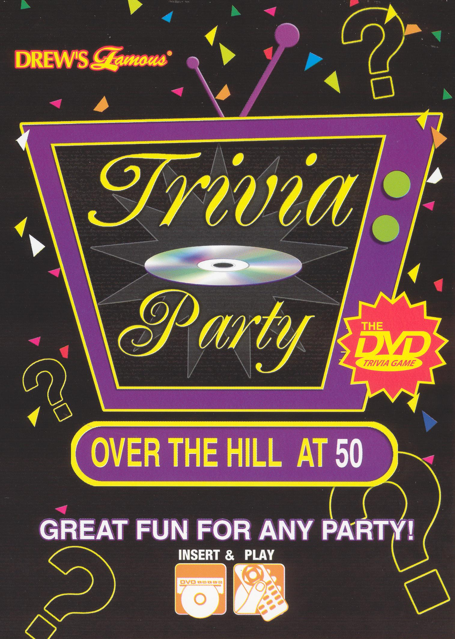 Trivia Party Over the Hill Movies